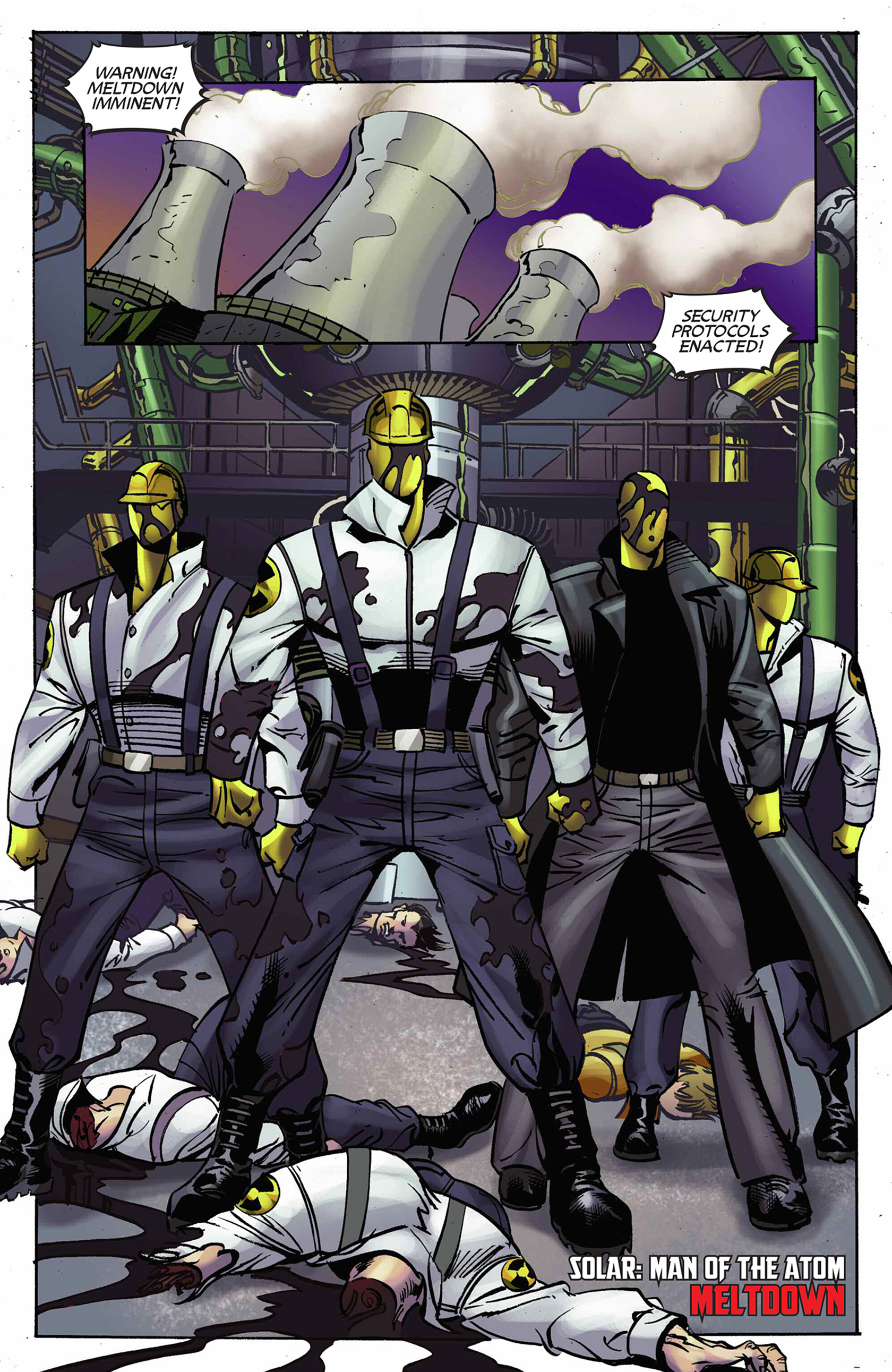 Read online Solar: Man of the Atom (2014) comic -  Issue #9 - 9