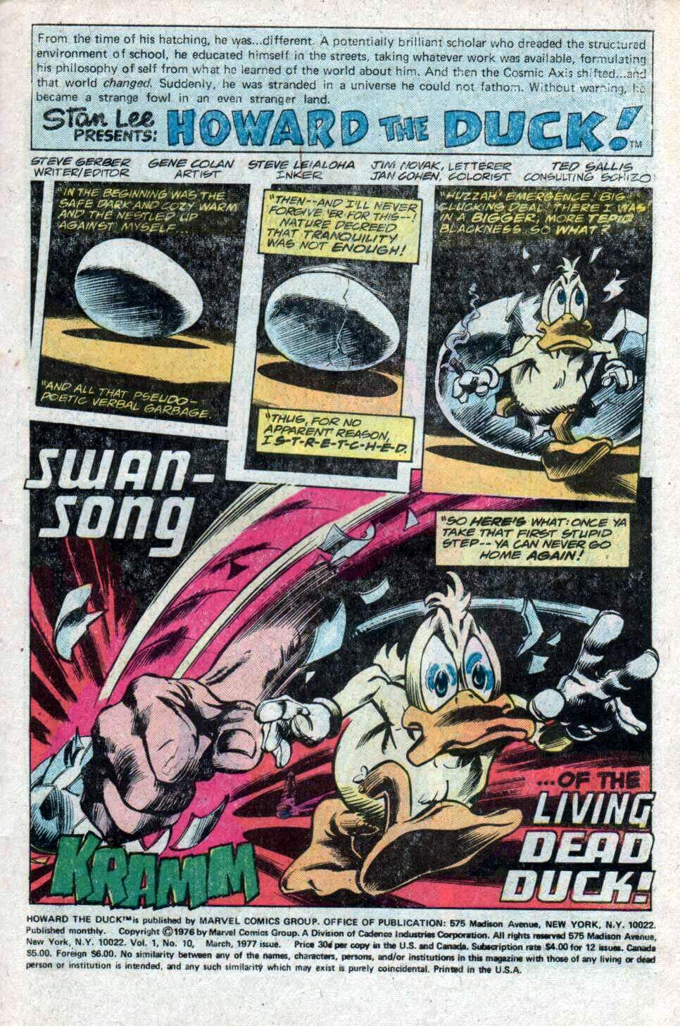 Howard the Duck (1976) Issue #10 #11 - English 2