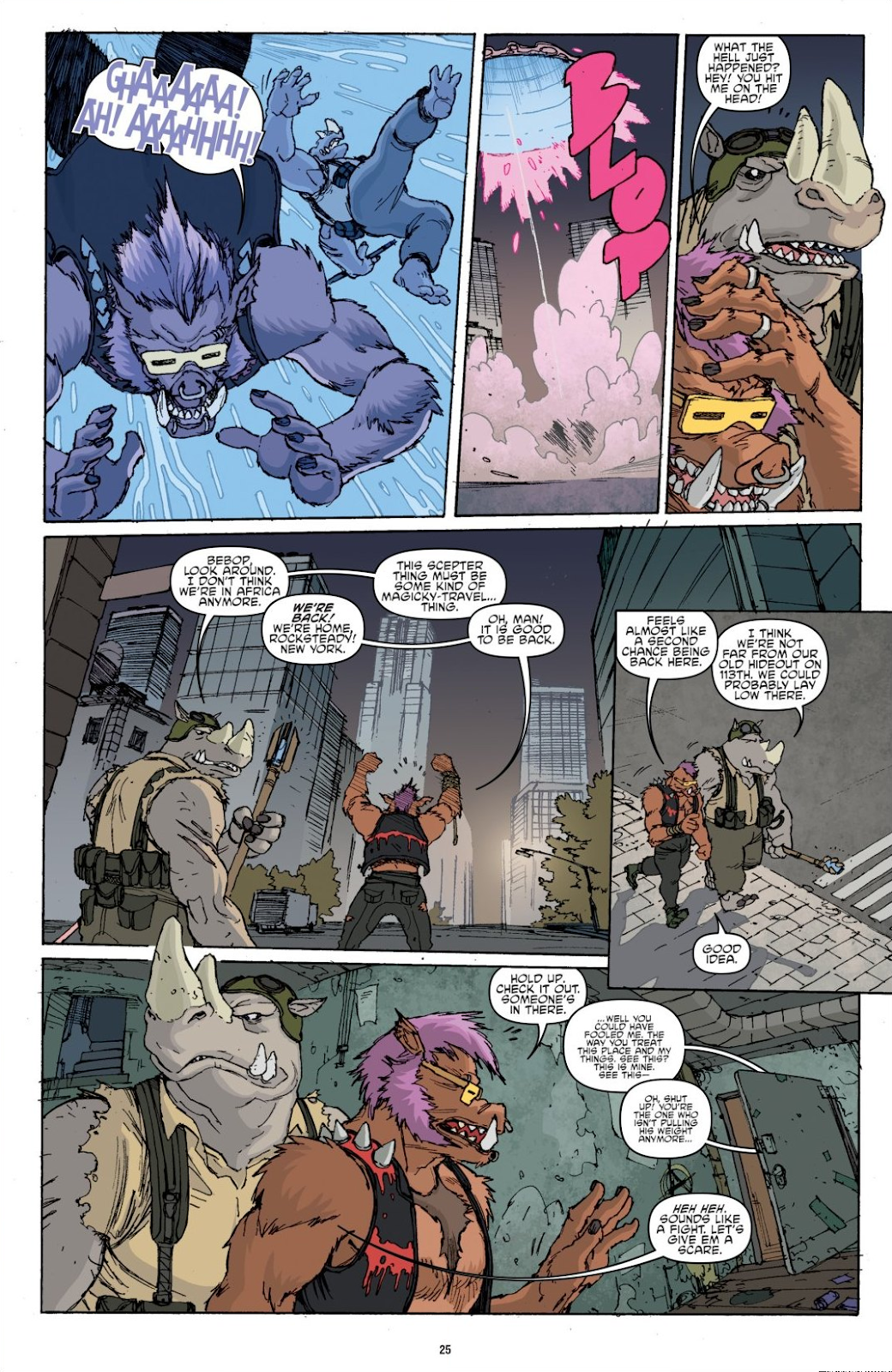 Read online Teenage Mutant Ninja Turtles: The IDW Collection comic -  Issue # TPB 8 (Part 1) - 25
