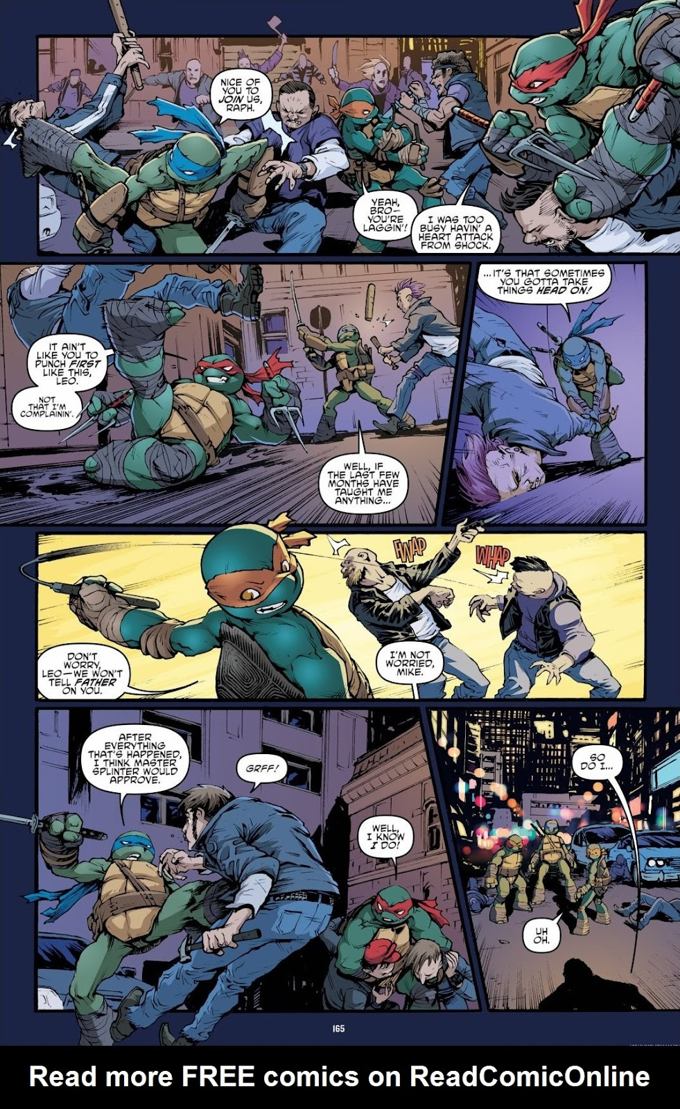 Read online Teenage Mutant Ninja Turtles: The IDW Collection comic -  Issue # TPB 6 (Part 2) - 63