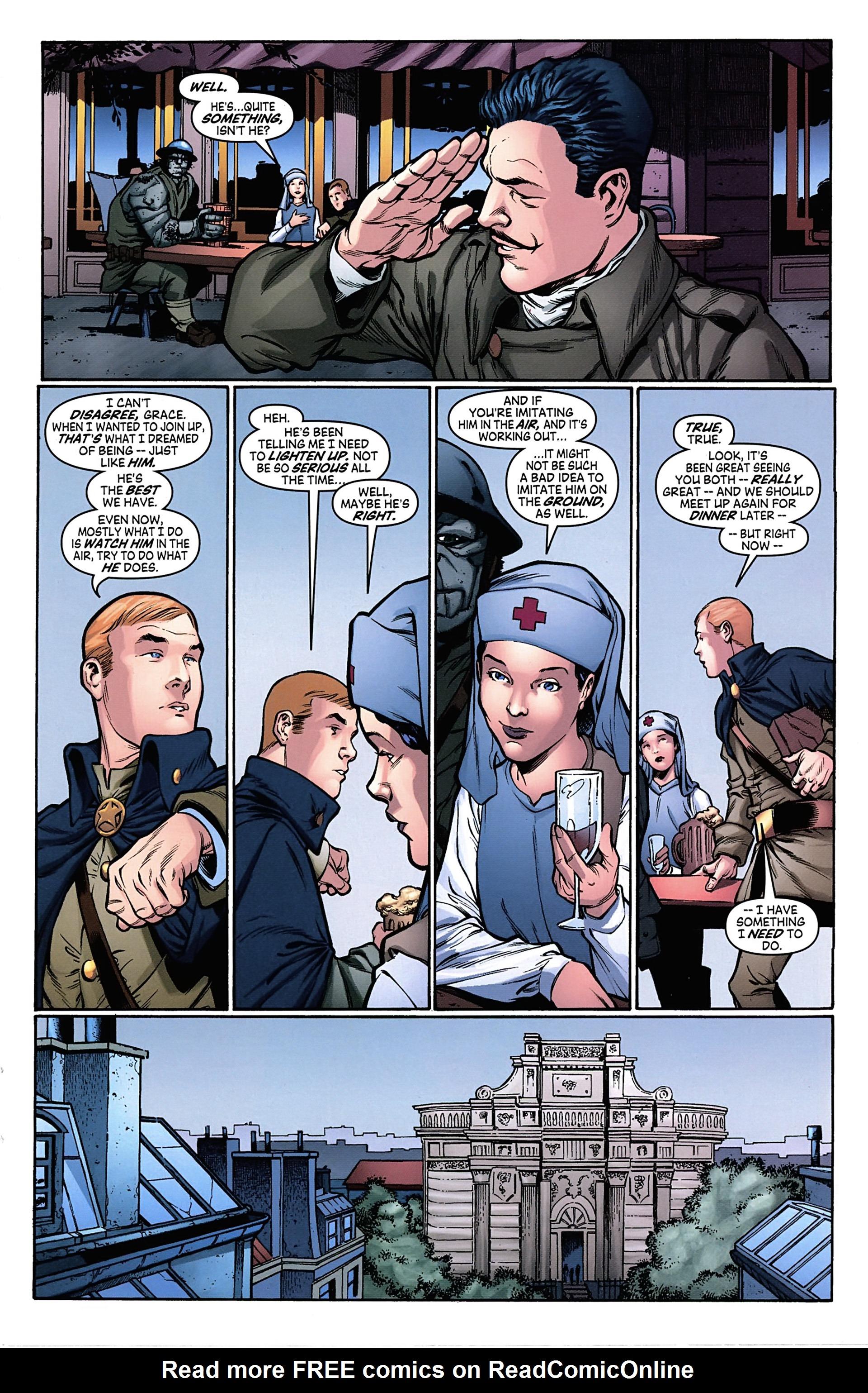 Read online Arrowsmith comic -  Issue #4 - 16