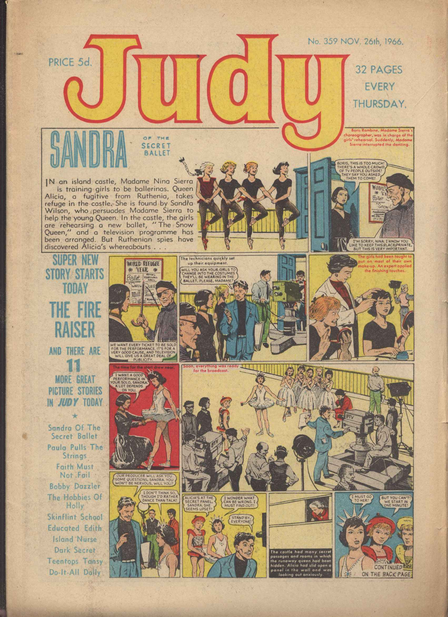 Read online Judy comic -  Issue #359 - 1