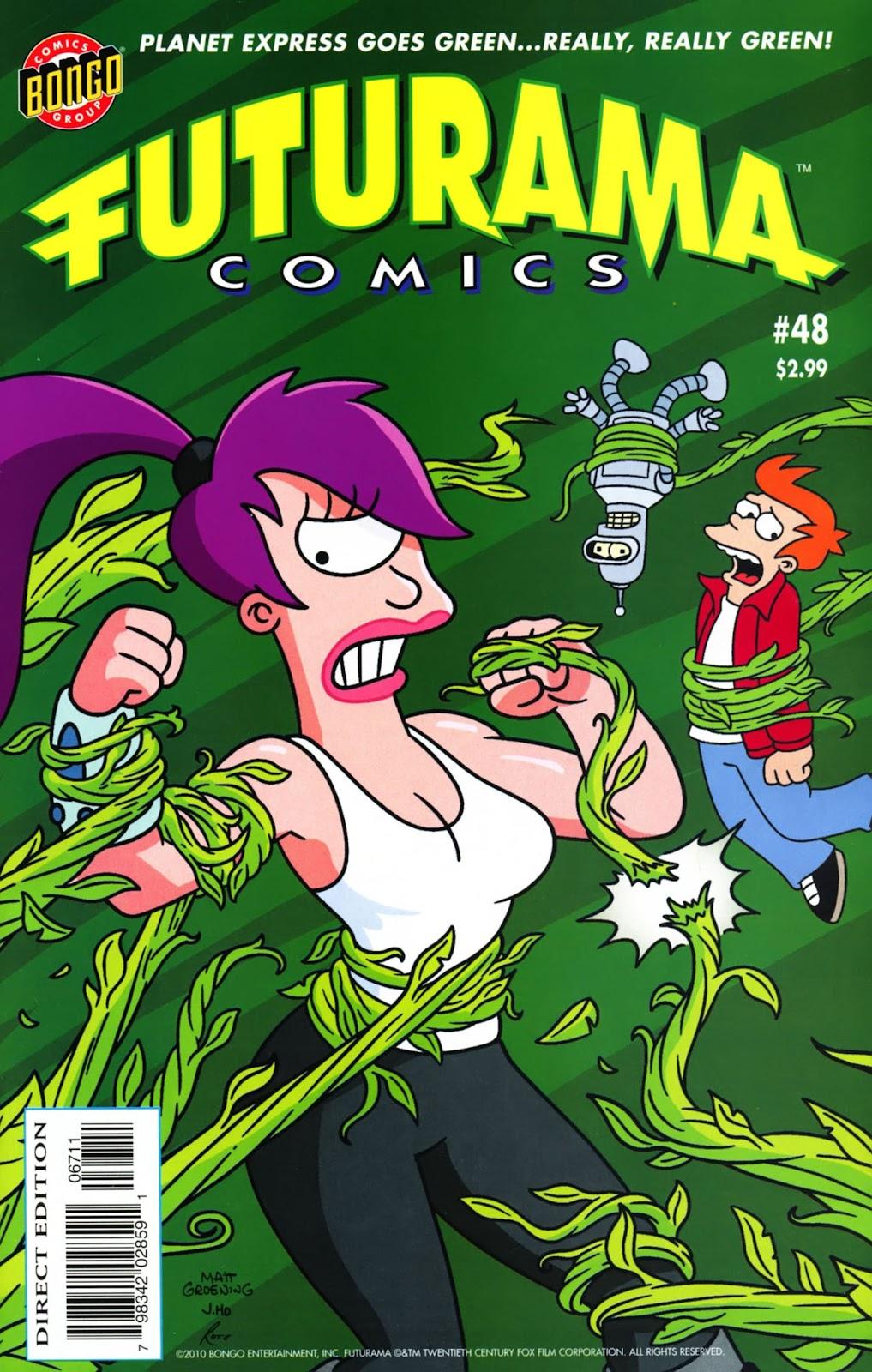 Futurama Comics issue 48 - Page 1