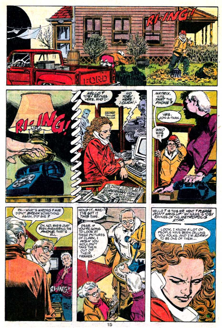 Read online Adventures of Superman (1987) comic -  Issue #451 - 16