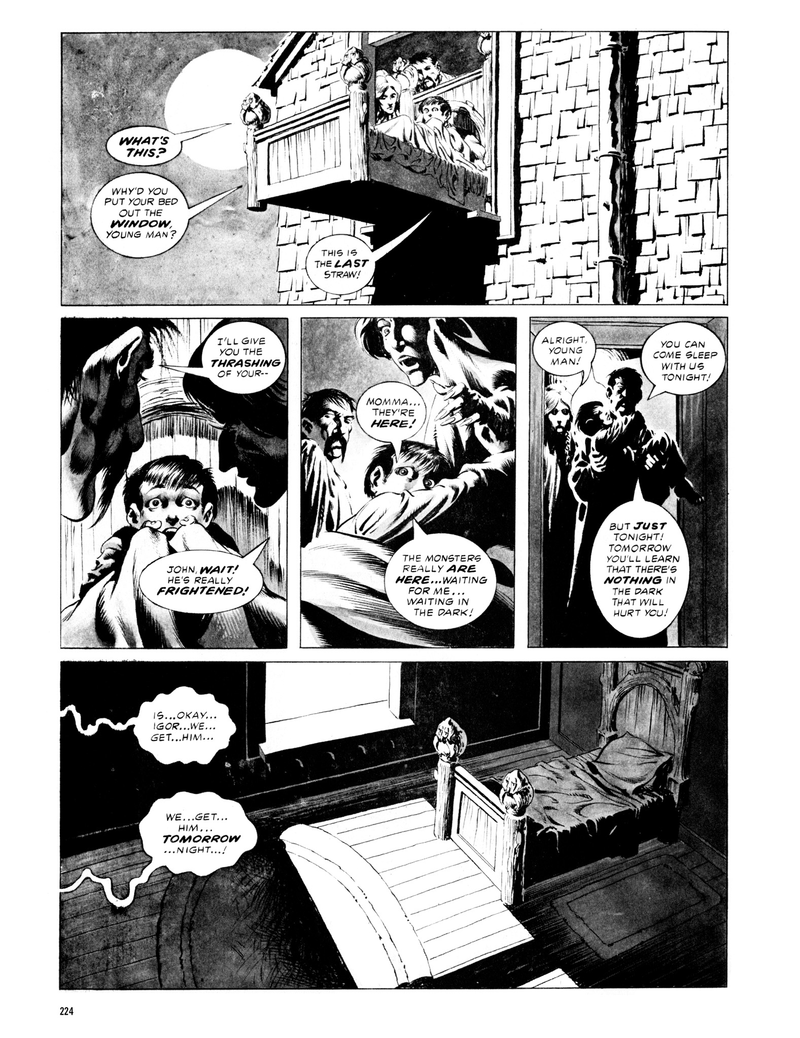Read online Eerie Archives comic -  Issue # TPB 12 - 225