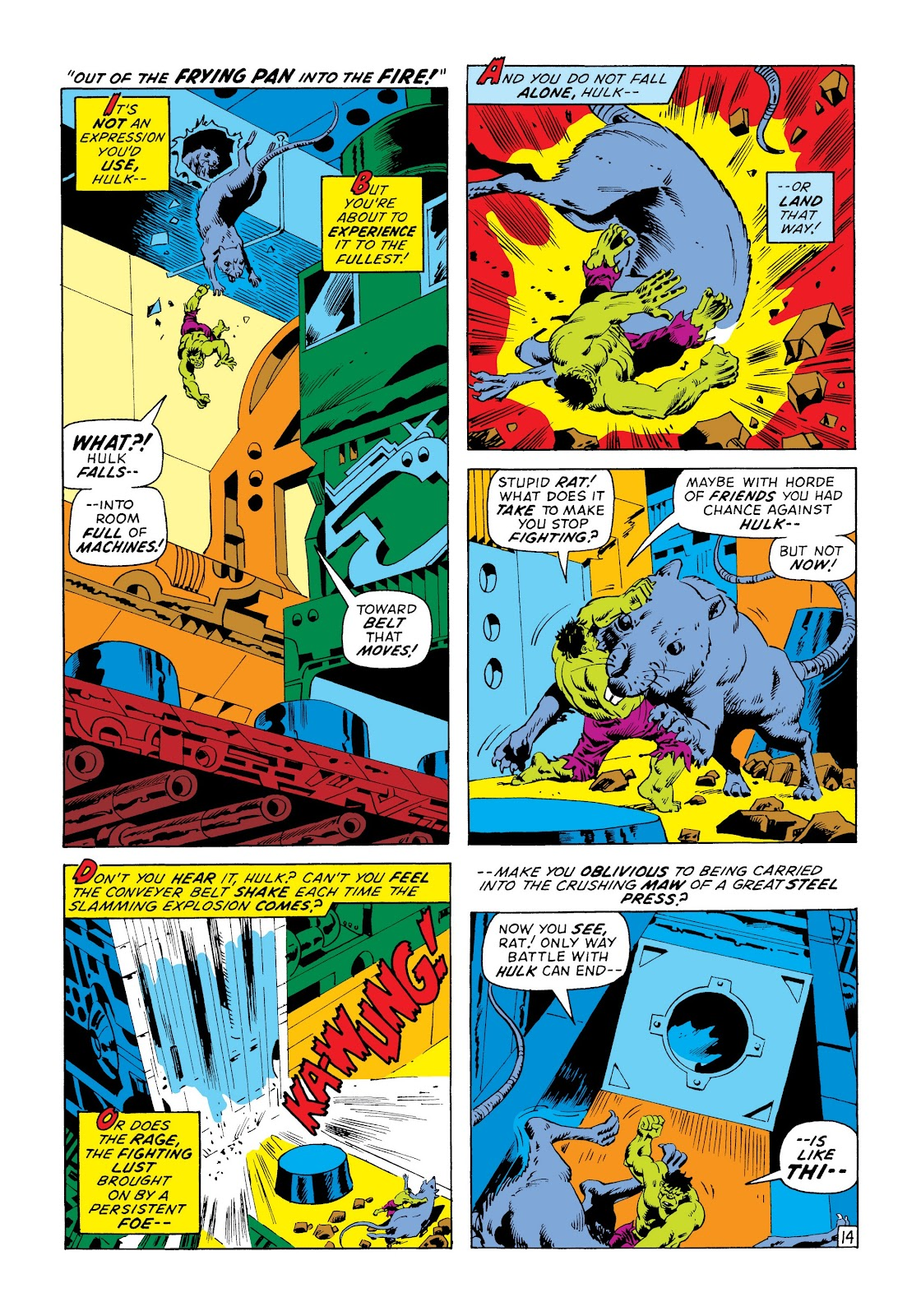 Read online Marvel Masterworks: The Incredible Hulk comic -  Issue # TPB 8 (Part 3) - 32