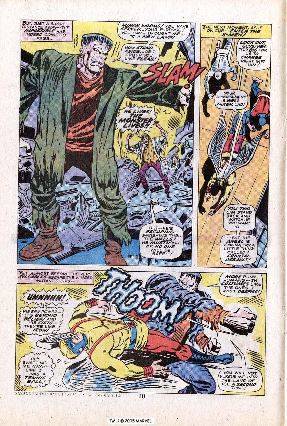 Uncanny X-Men (1963) 88 Page 11