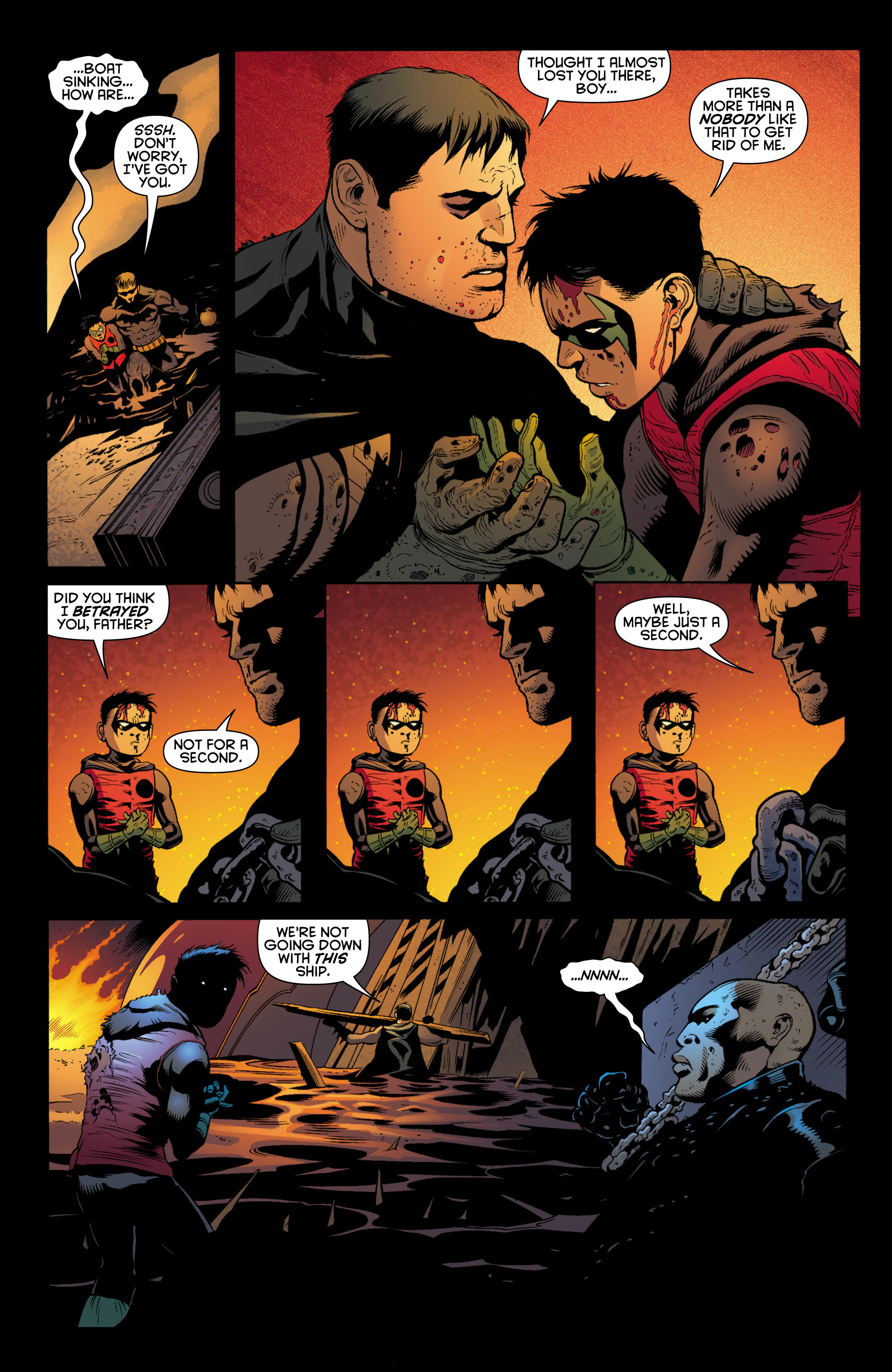 Read online Batman and Robin (2011) comic -  Issue # TPB 1 - 148