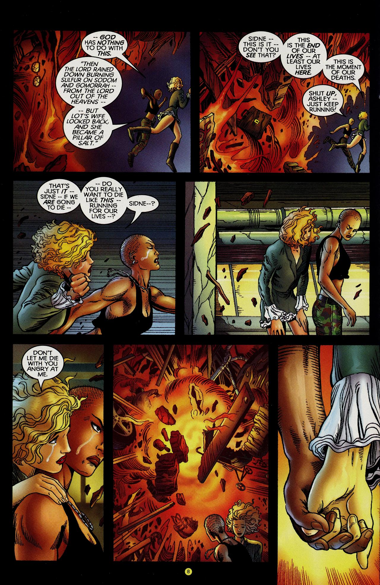 Read online Solar, Man of the Atom: Hell on Earth comic -  Issue #1 - 9
