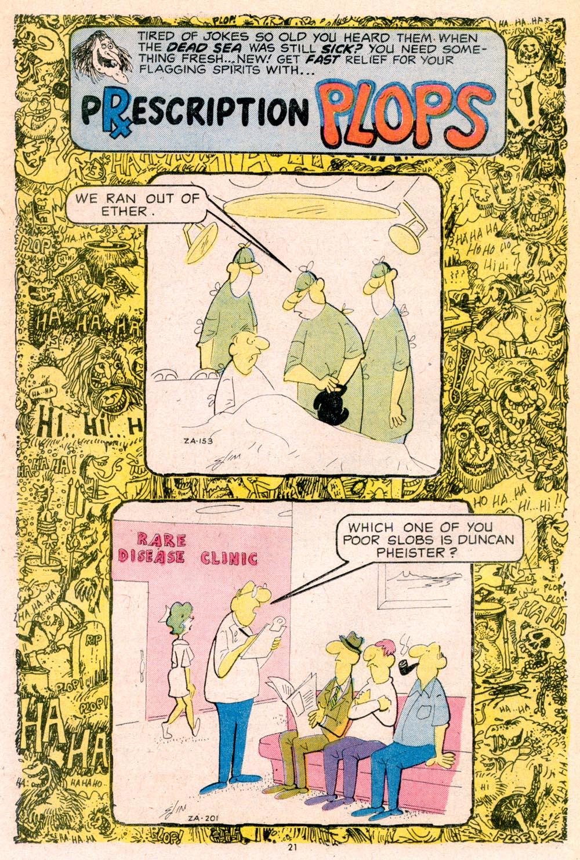 Read online Plop! comic -  Issue #5 - 22