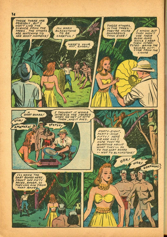 Read online Super-Magician Comics comic -  Issue #9 - 14