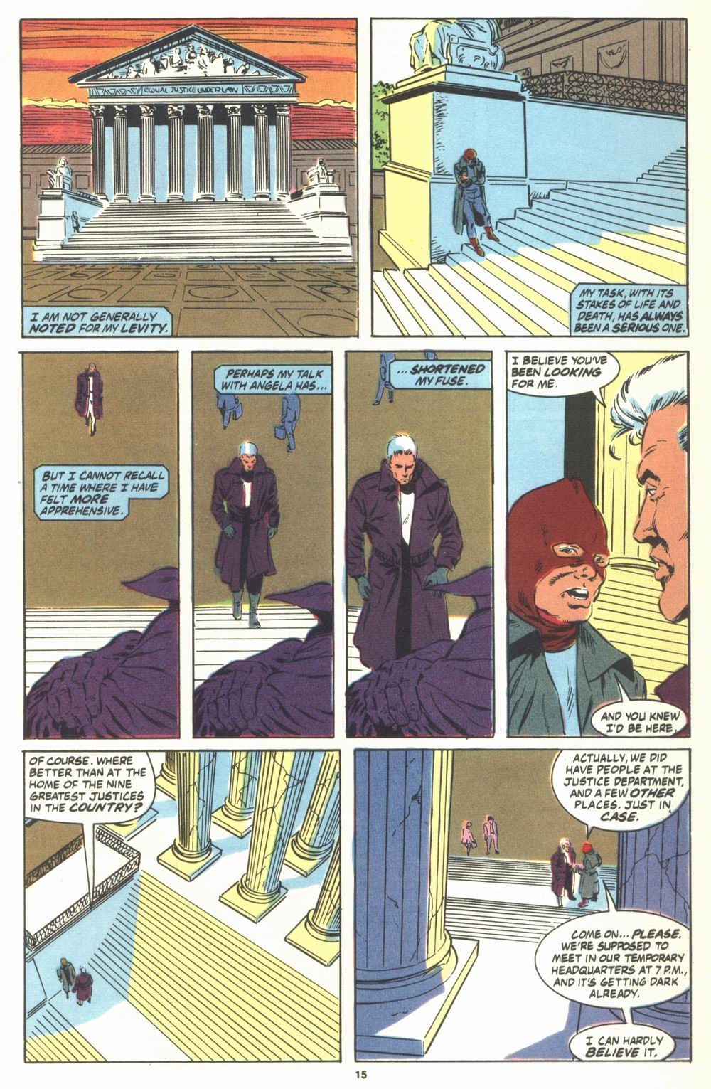 Read online Justice (1986) comic -  Issue #23 - 17