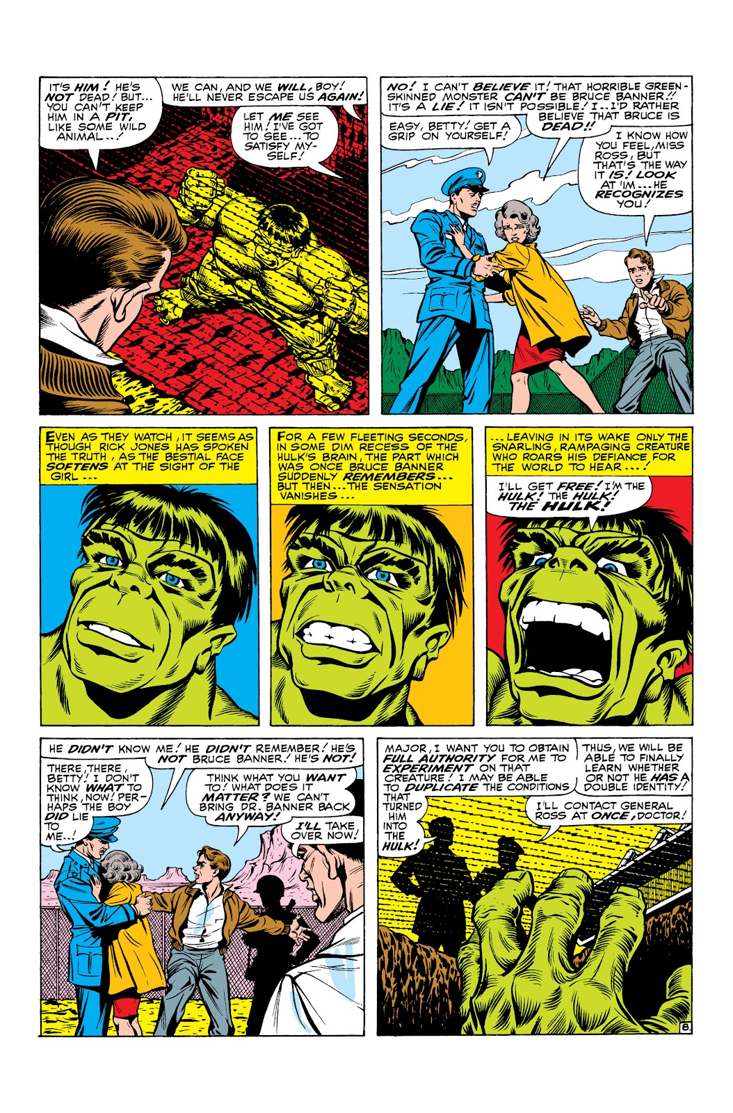 Read online Marvel Masterworks: The Incredible Hulk comic -  Issue # TPB 2 (Part 3) - 30