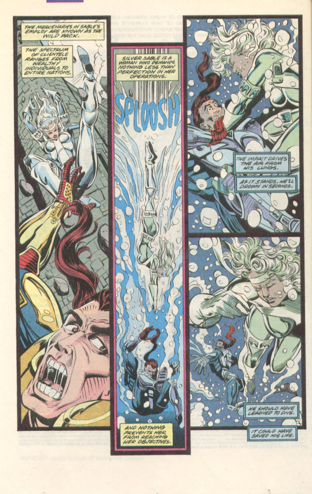 Read online Silver Sable and the Wild Pack comic -  Issue #1 - 3