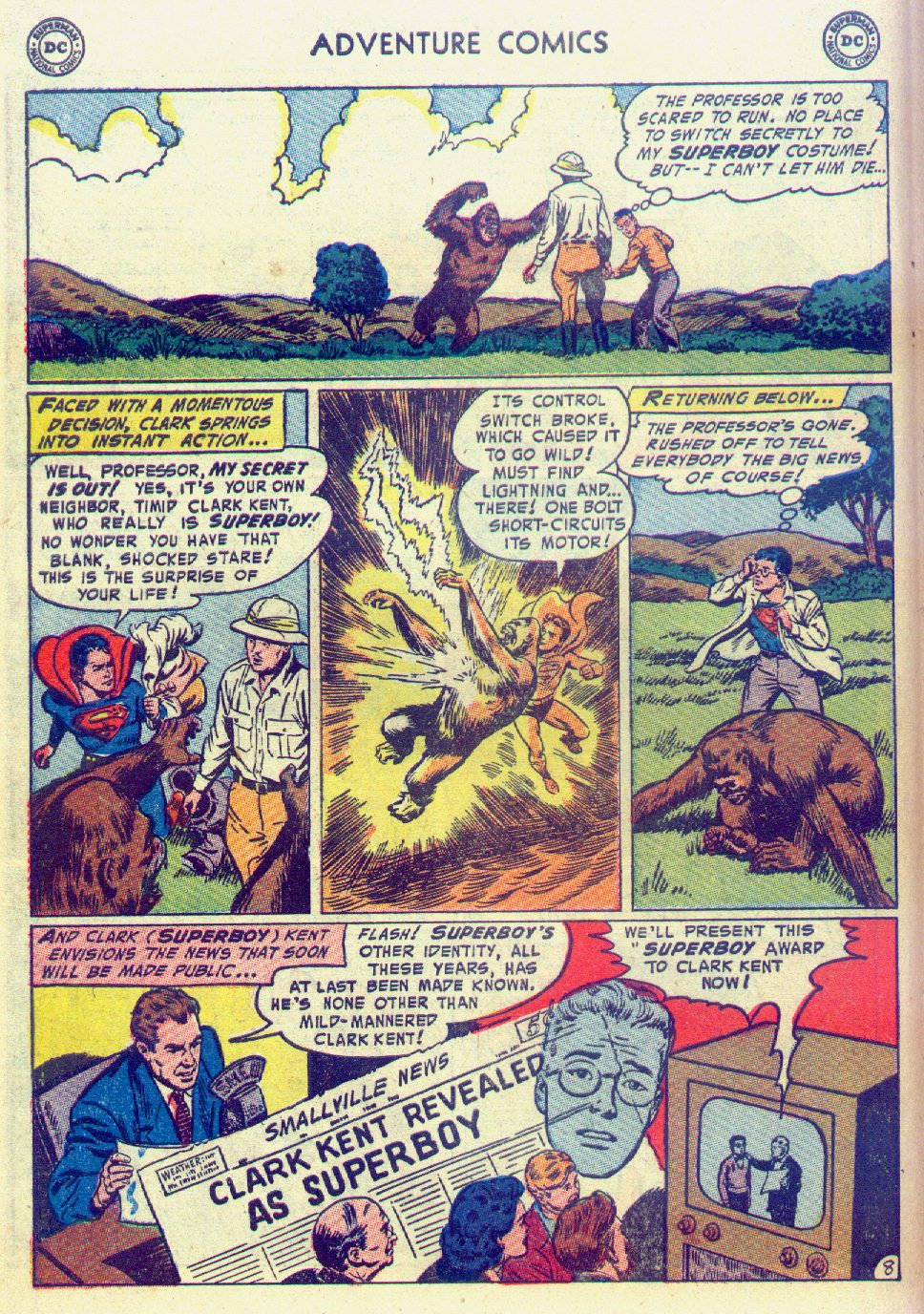 Read online Adventure Comics (1938) comic -  Issue #201 - 10