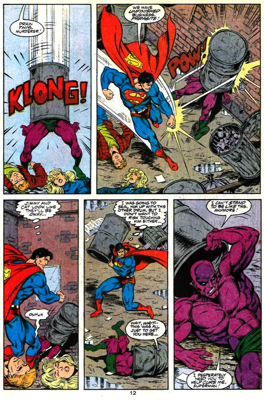 Read online Adventures of Superman (1987) comic -  Issue #482 - 13