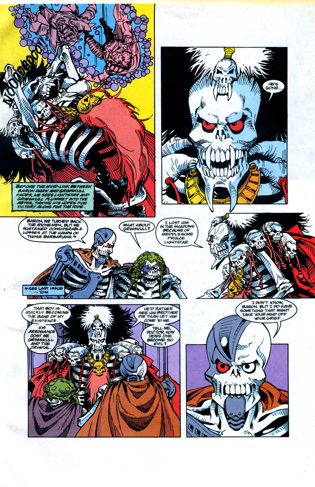 Skeleton Warriors Issue #4 #4 - English 6