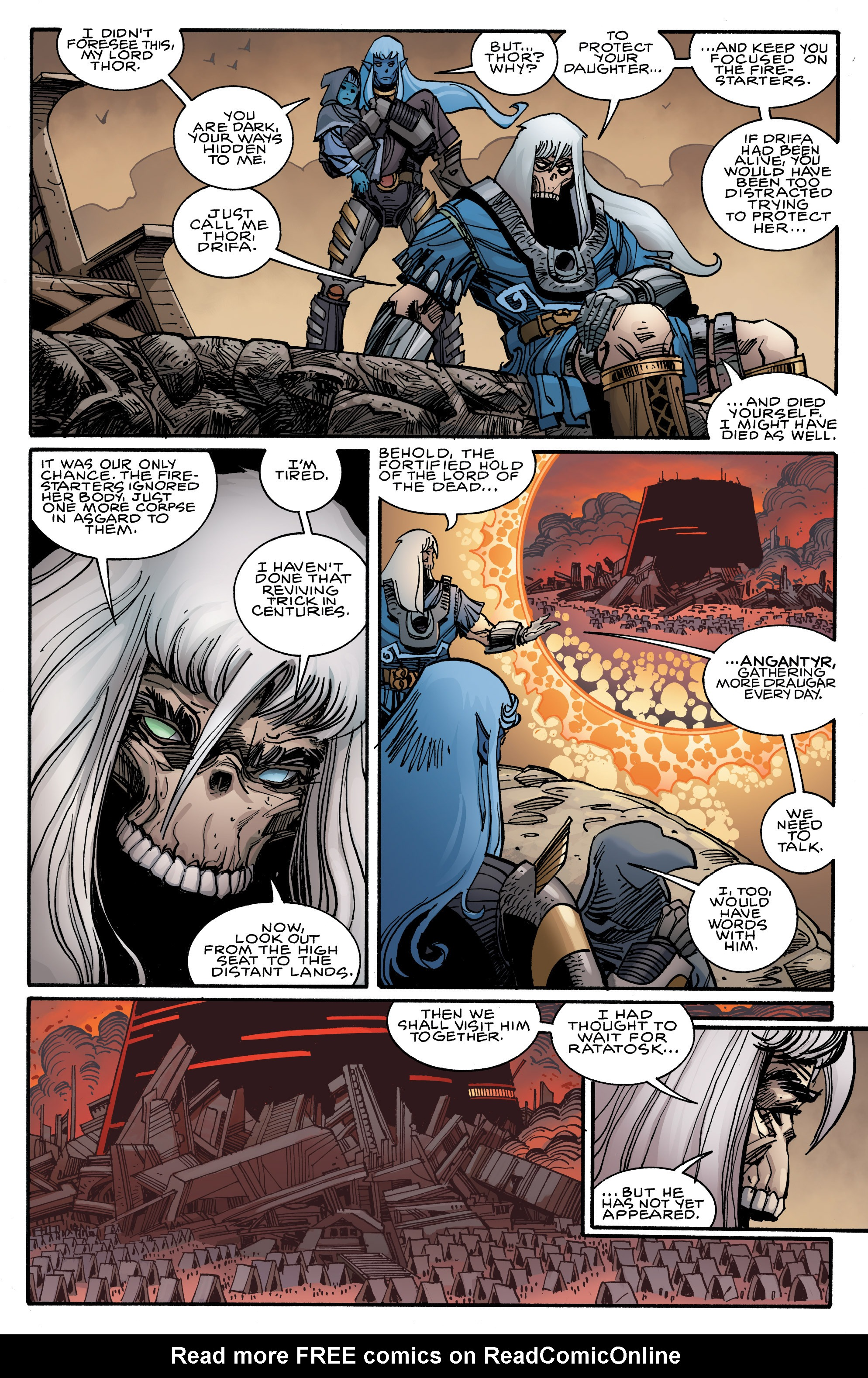 Read online Ragnarok comic -  Issue #9 - 11