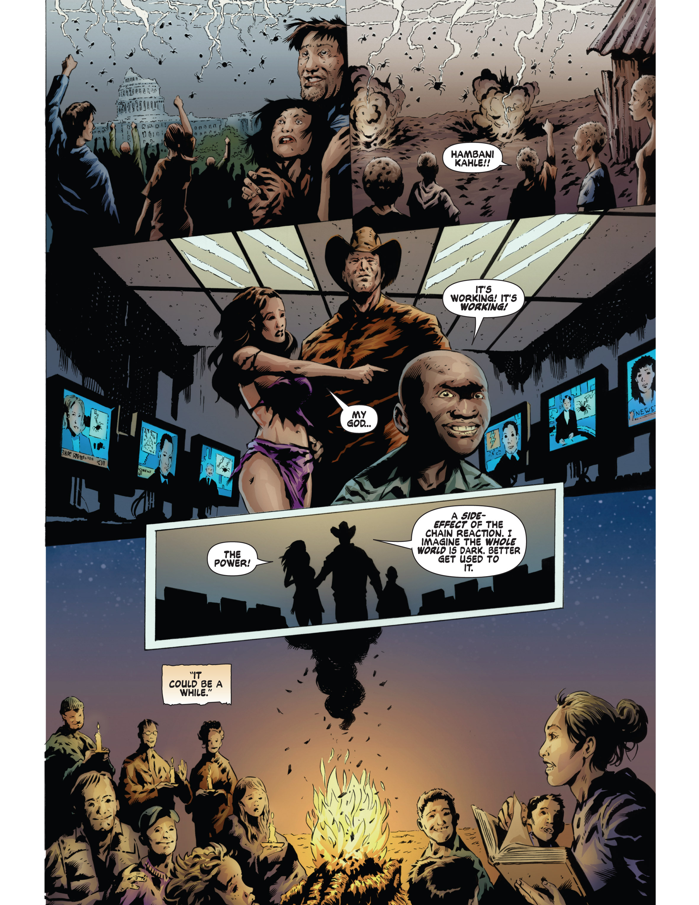 Read online Bad Planet comic -  Issue # TPB - 132