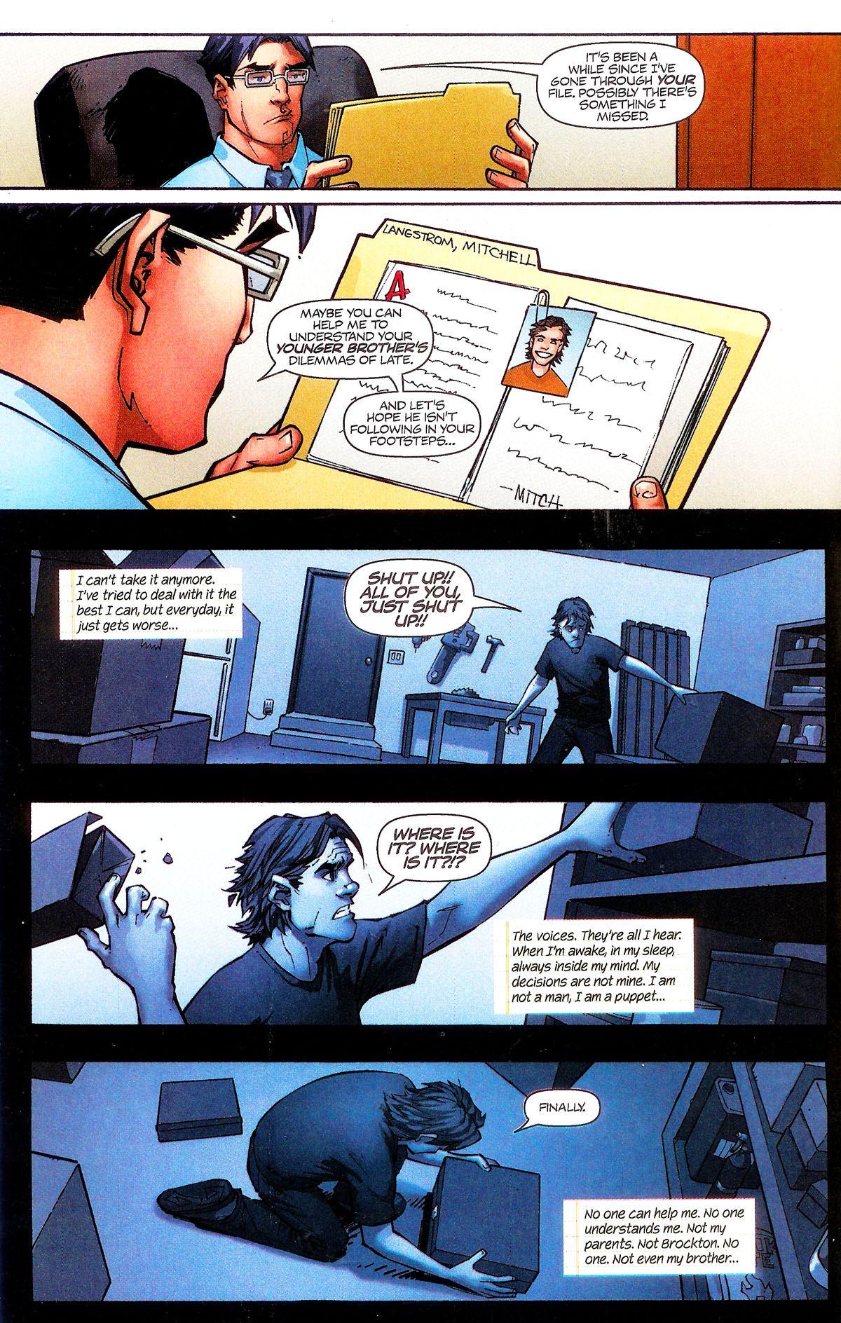 Read online Shrugged (2006) comic -  Issue #5 - 4