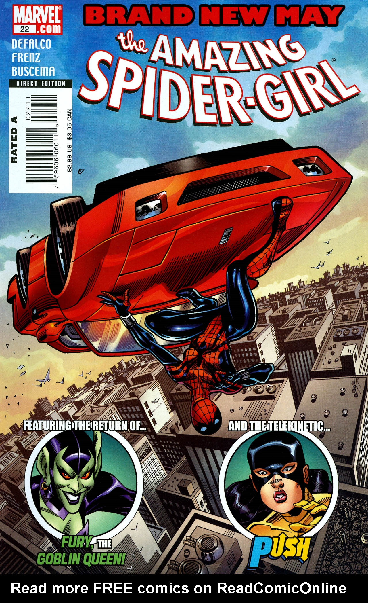 Read online Amazing Spider-Girl comic -  Issue #22 - 1