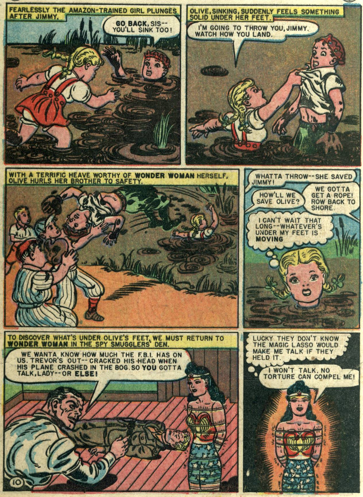 Read online Sensation (Mystery) Comics comic -  Issue #58 - 12