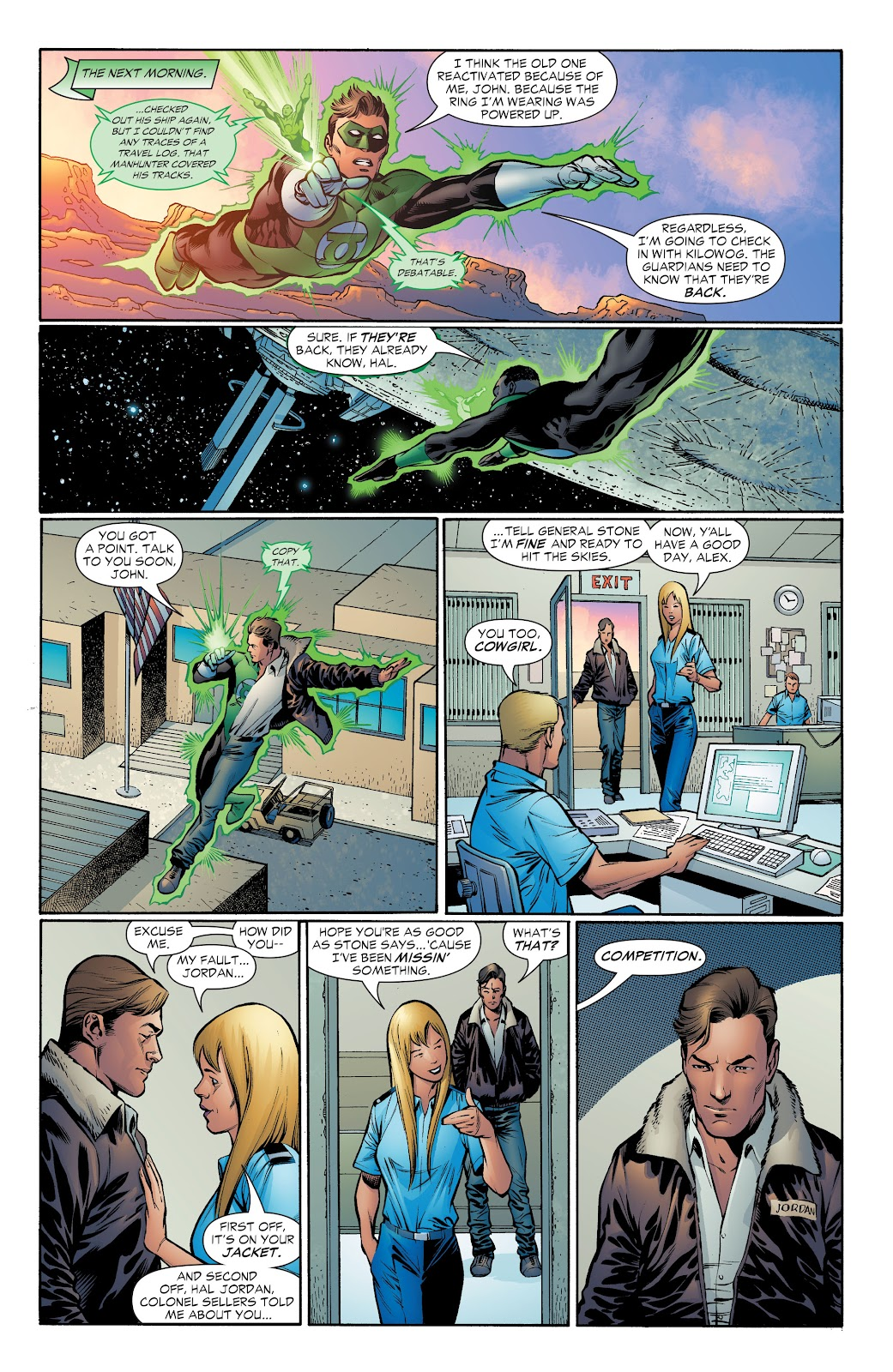 Read online Green Lantern by Geoff Johns comic -  Issue # TPB 1 (Part 4) - 64