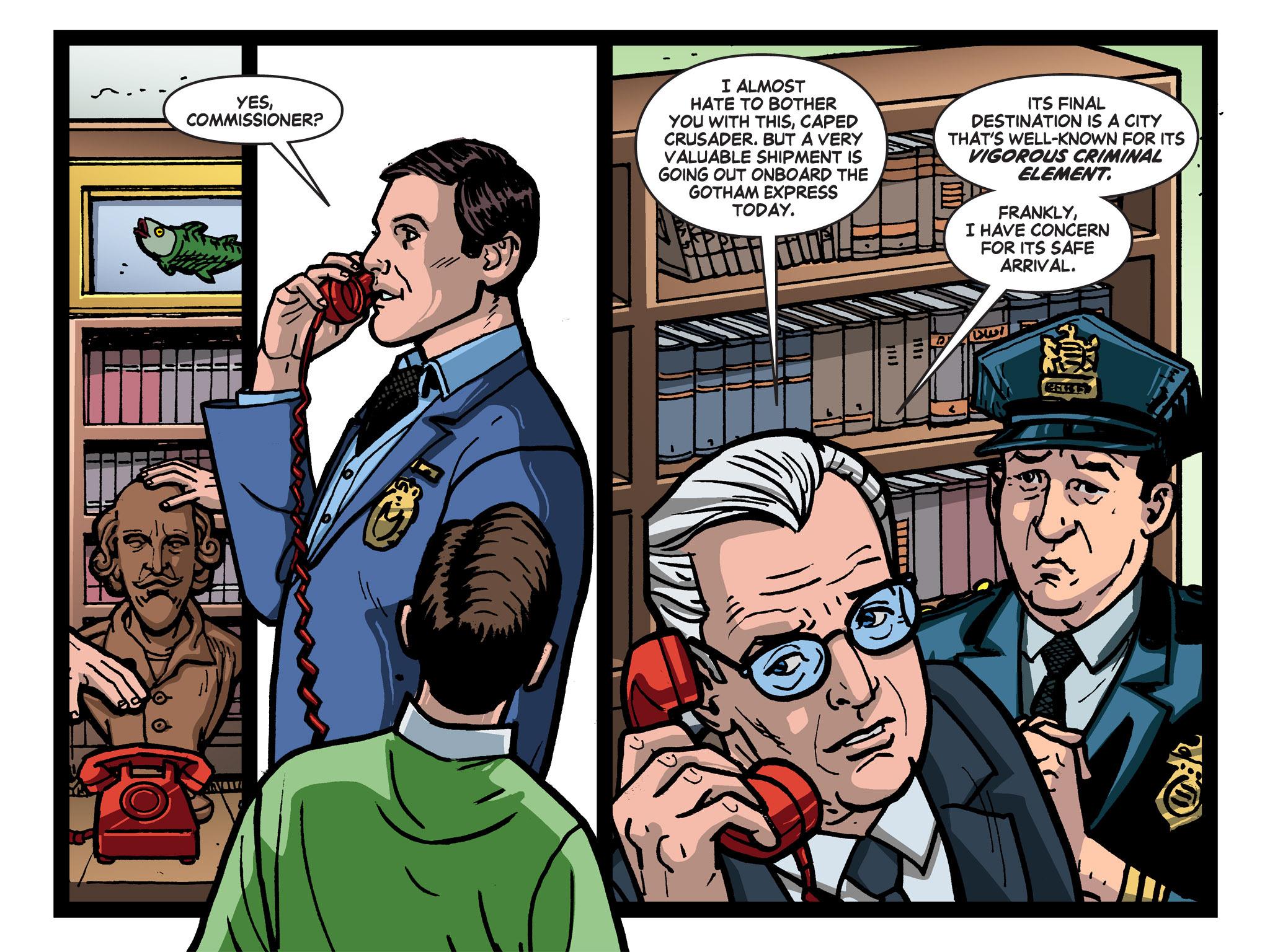Read online Batman '66 Meets the Green Hornet [II] comic -  Issue #1 - 21