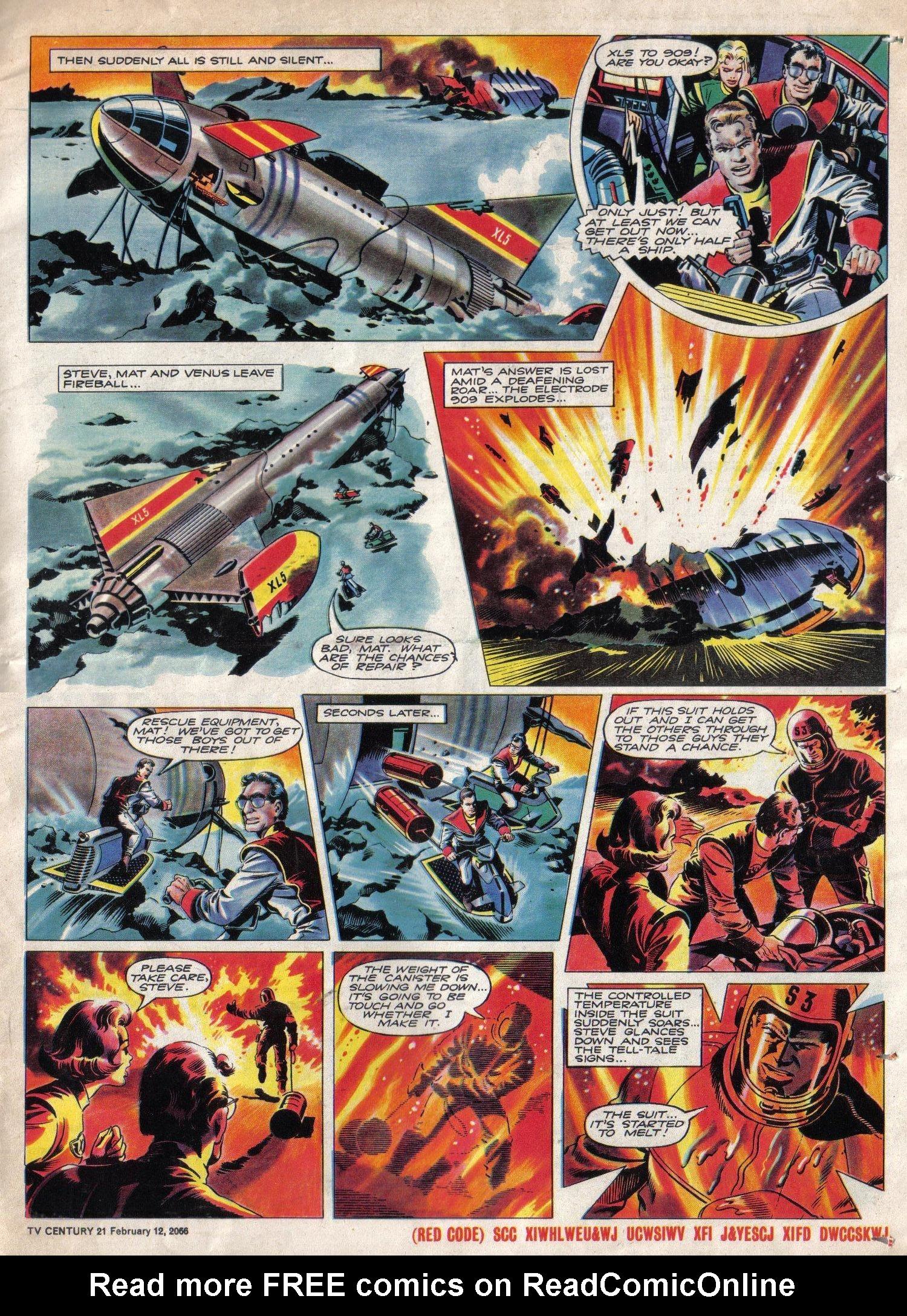 Read online TV Century 21 (TV 21) comic -  Issue #56 - 16