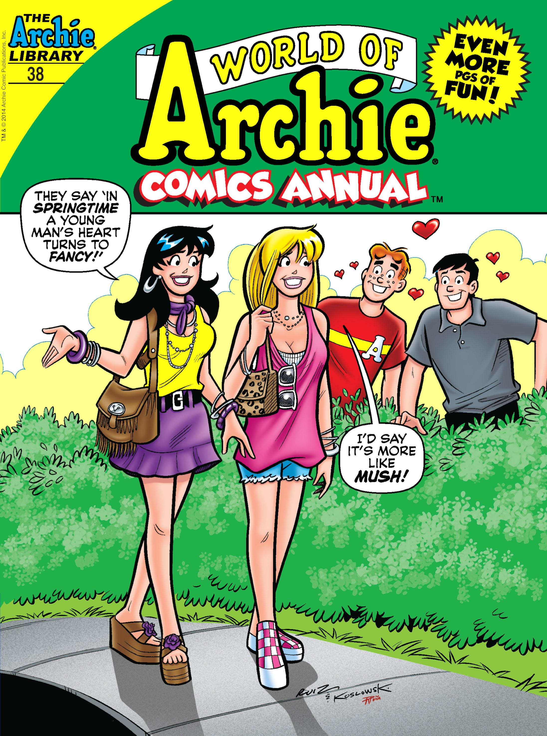 World of Archie Double Digest 38 Page 1