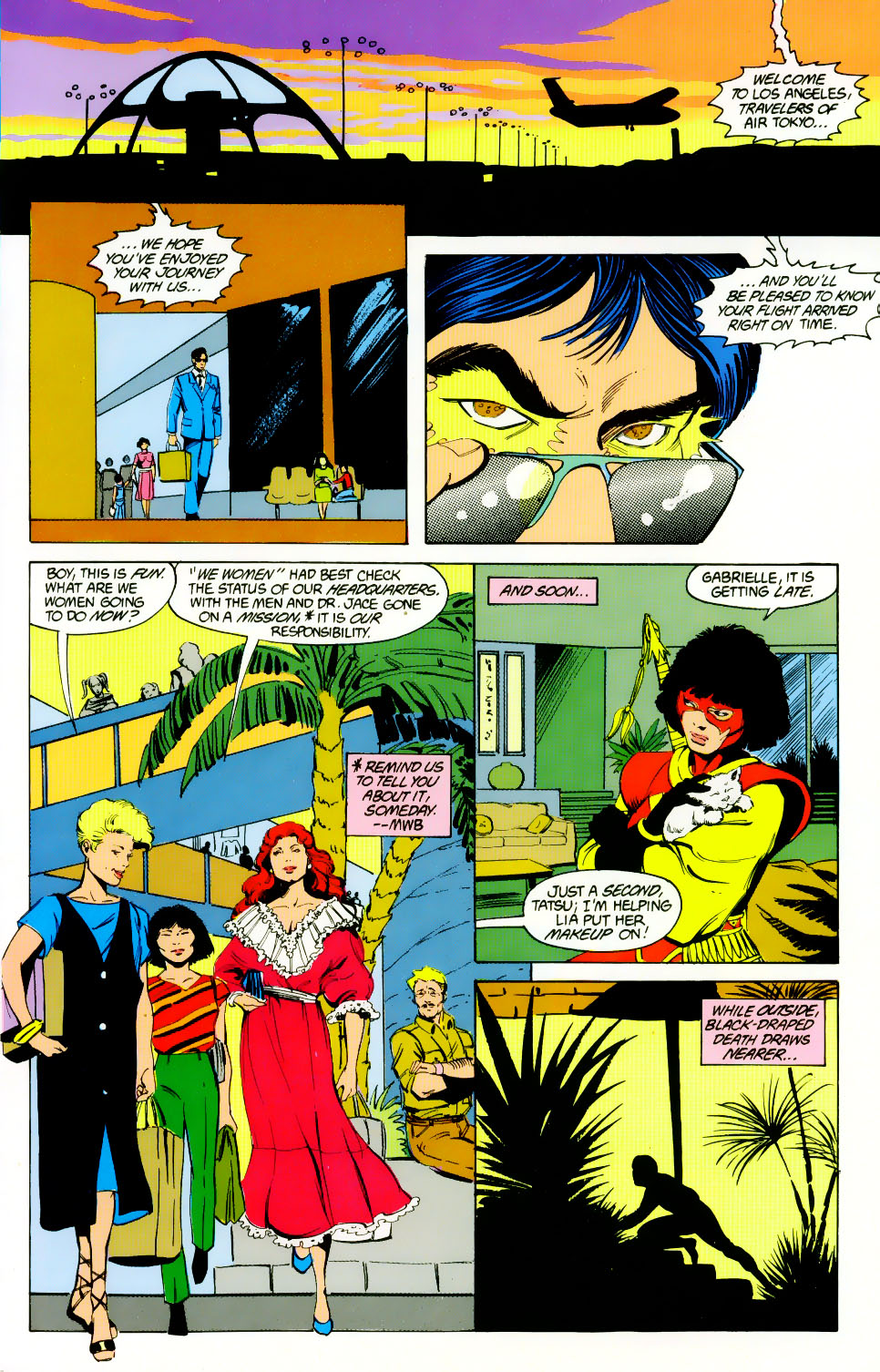 Read online Adventures of the Outsiders comic -  Issue #46 - 6