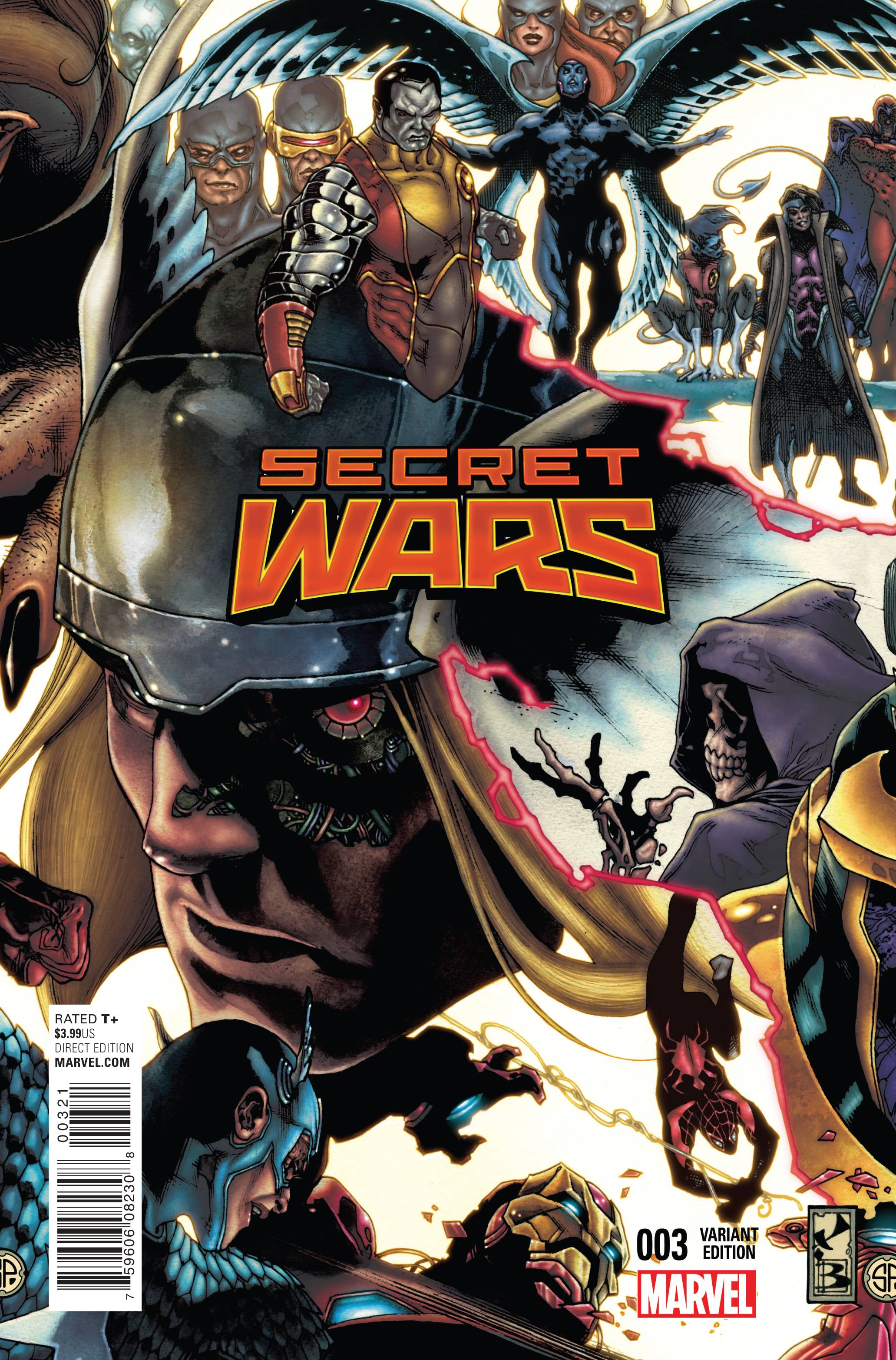 Read online Secret Wars comic -  Issue #3 - 7
