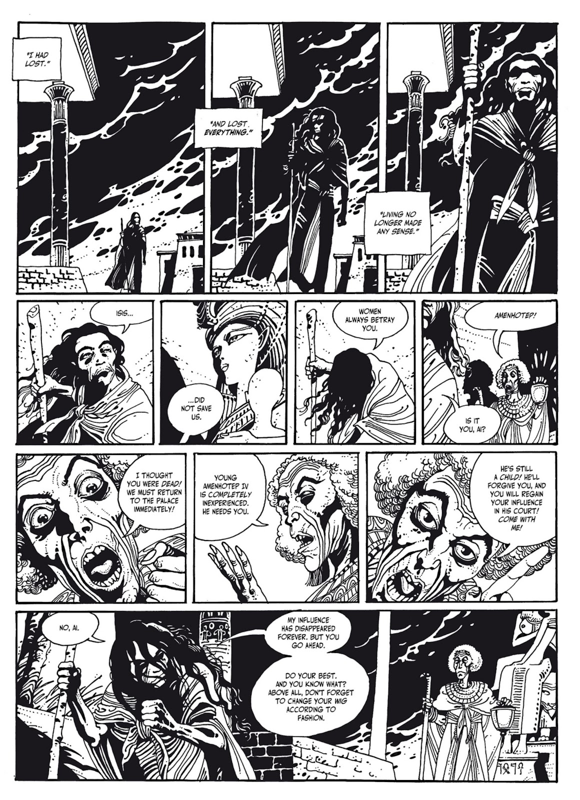 Read online The Egyptian Princesses comic -  Issue # TPB 1 (Part 2) - 97