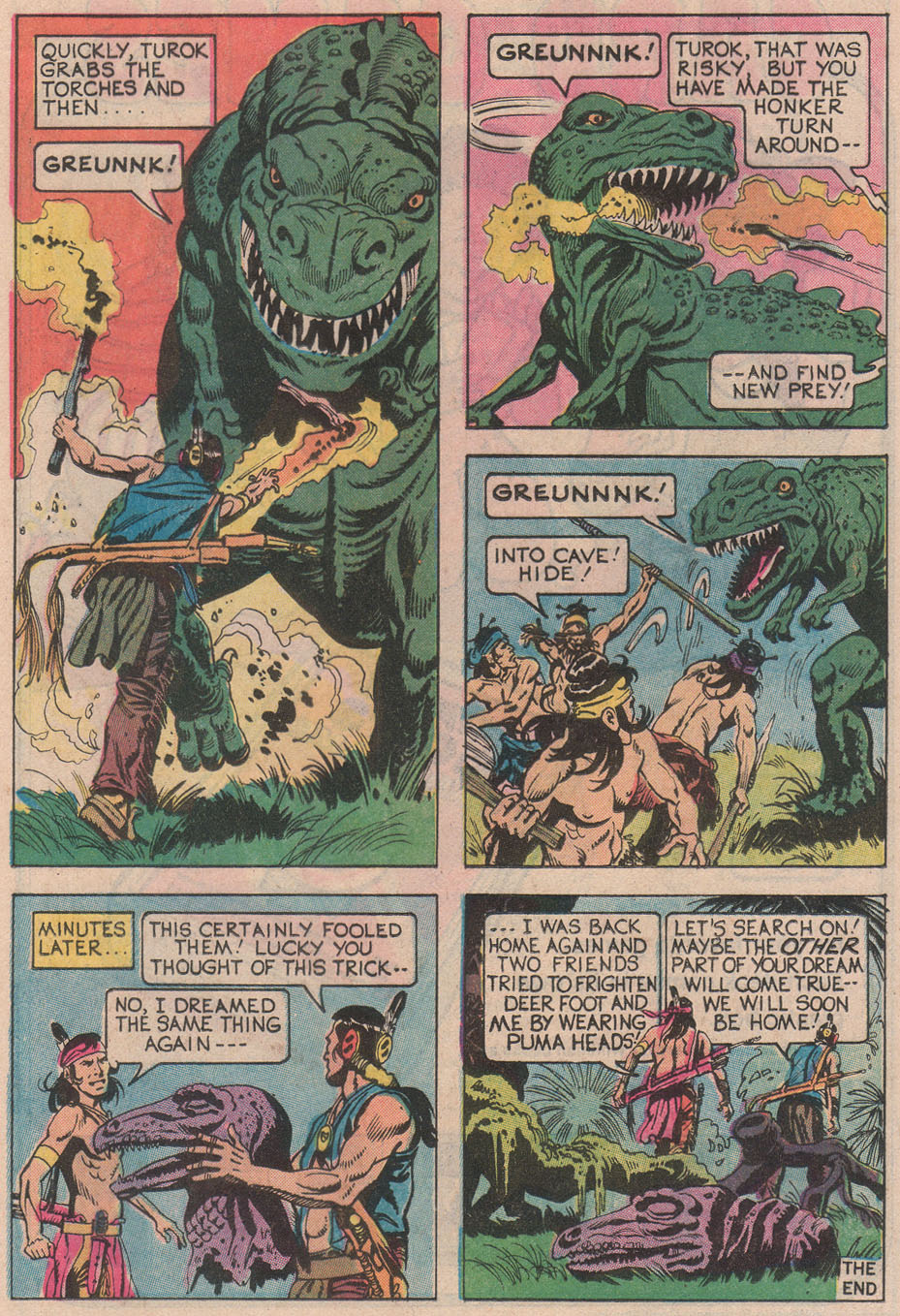 Read online Turok, Son of Stone comic -  Issue #113 - 17