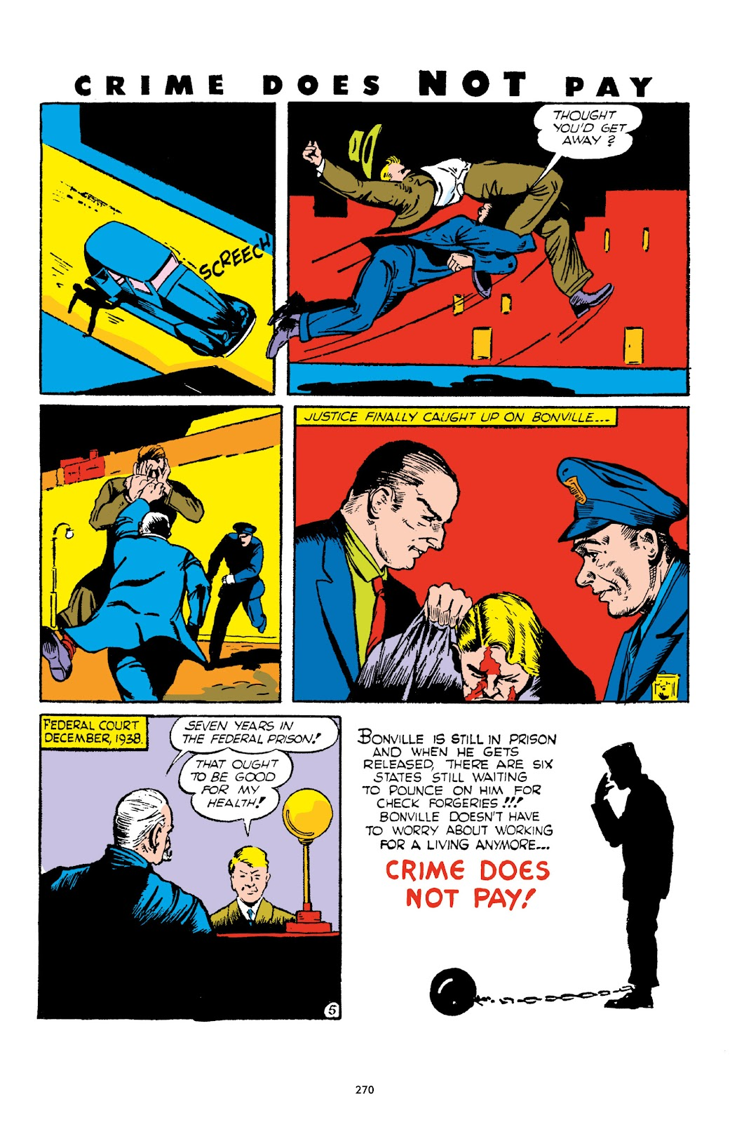 Read online Crime Does Not Pay Archives comic -  Issue # TPB 1 (Part 3) - 73