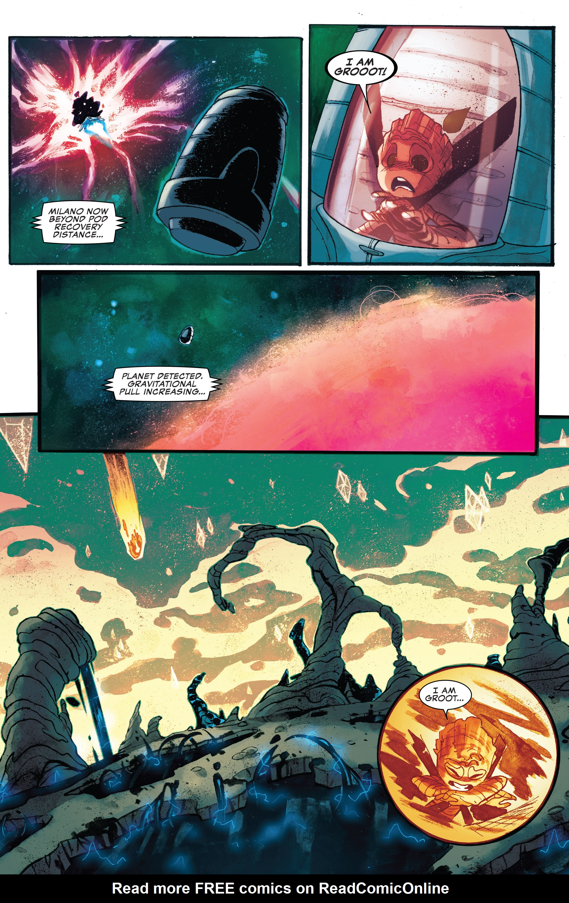 Read online I Am Groot comic -  Issue #1 - 15
