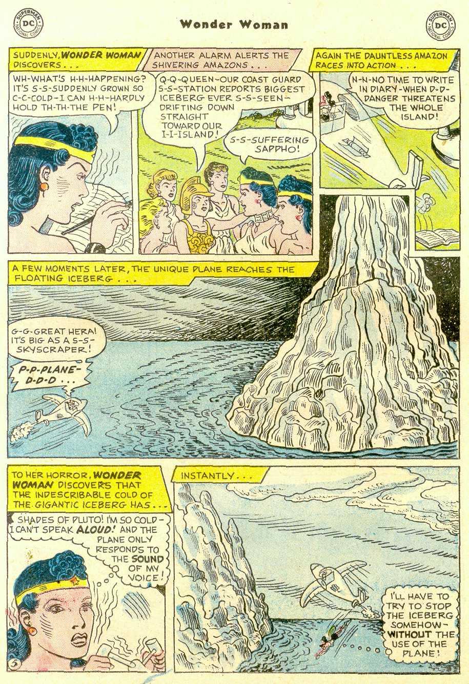 Read online Wonder Woman (1942) comic -  Issue #96 - 19
