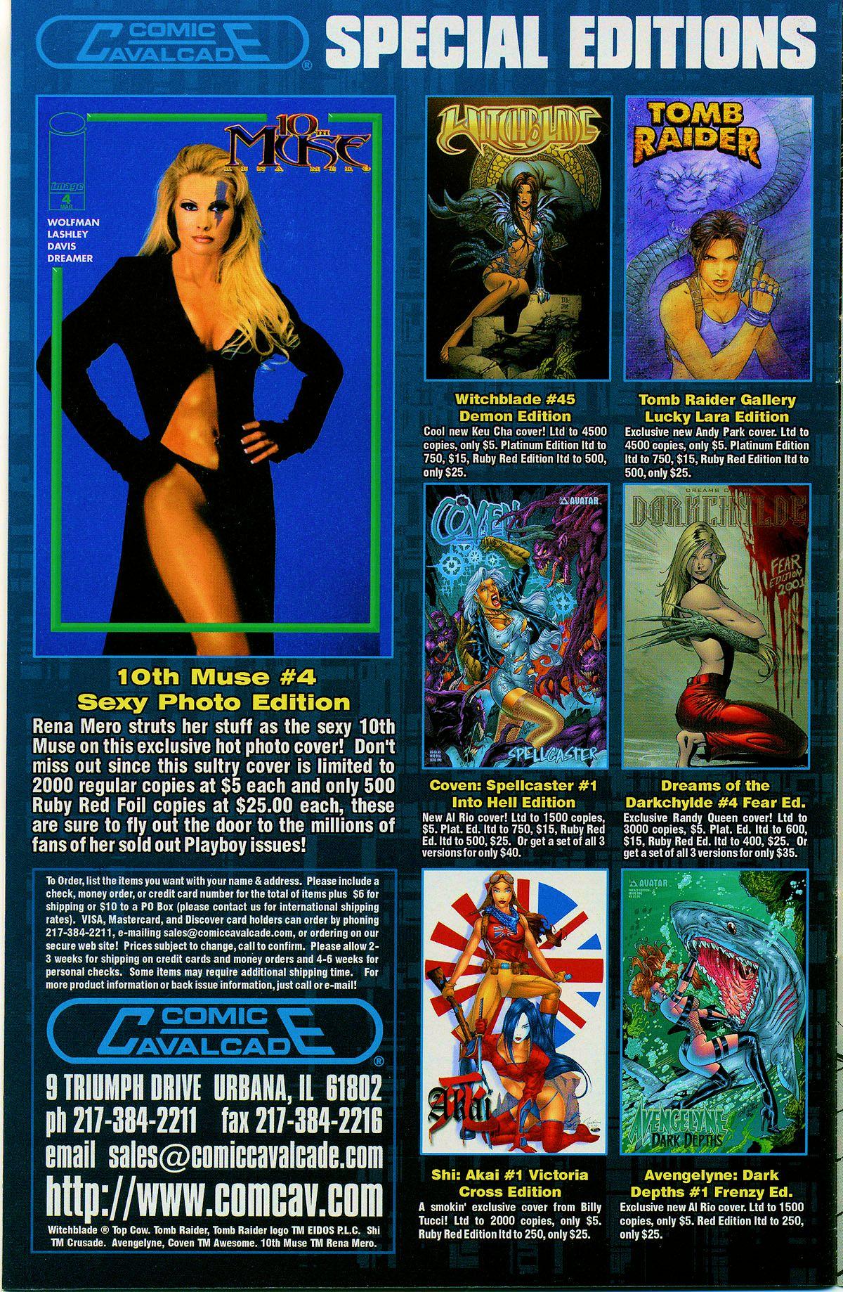 Read online Avengelyne: Dragon Realm comic -  Issue #1 - 35
