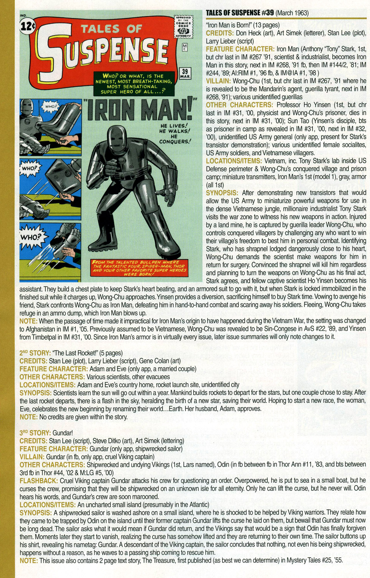 Read online Official Index to the Marvel Universe comic -  Issue #1 - 24