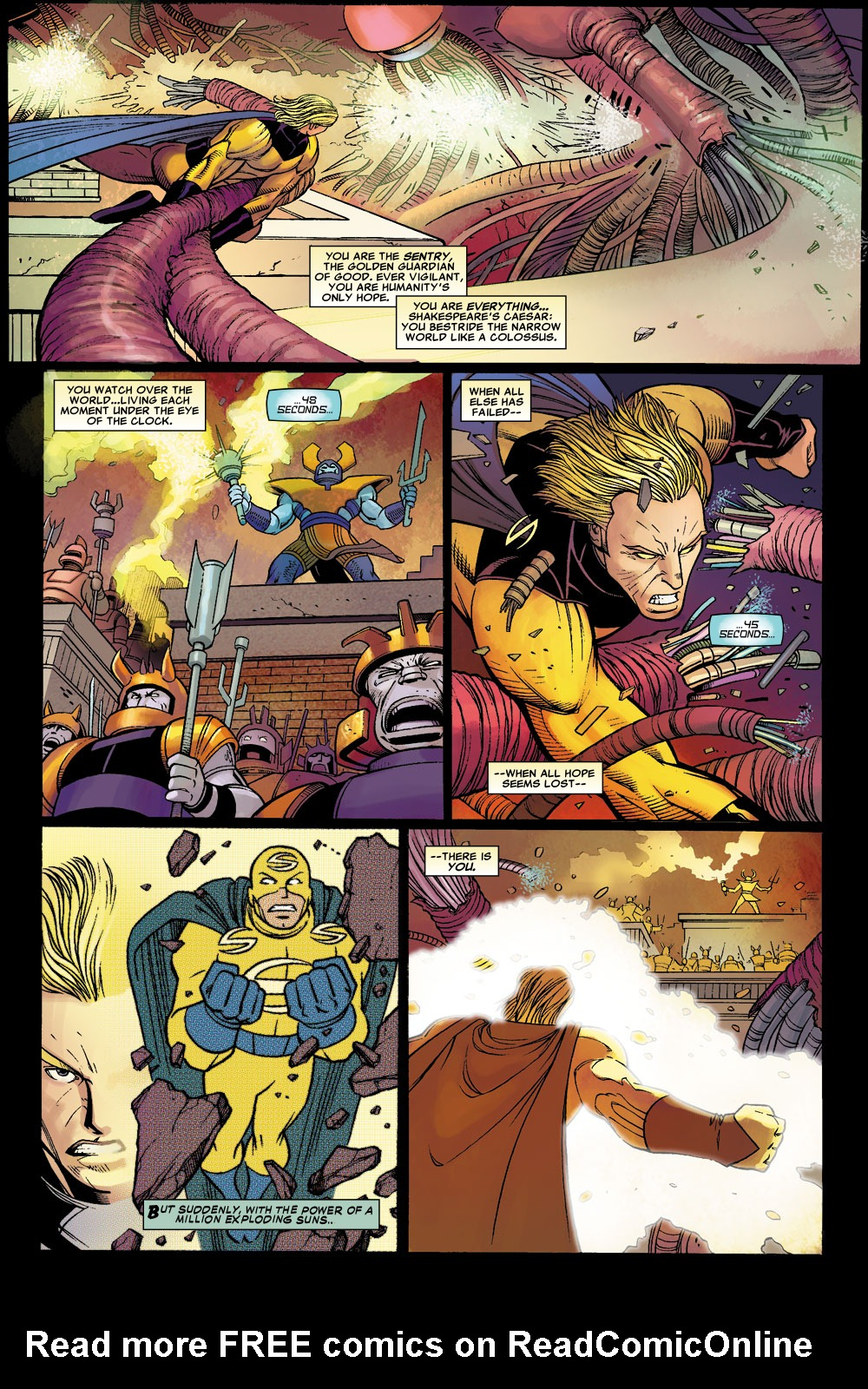 Read online Sentry (2006) comic -  Issue #1 - 5