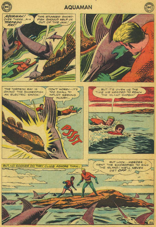 Read online Aquaman (1962) comic -  Issue #5 - 28