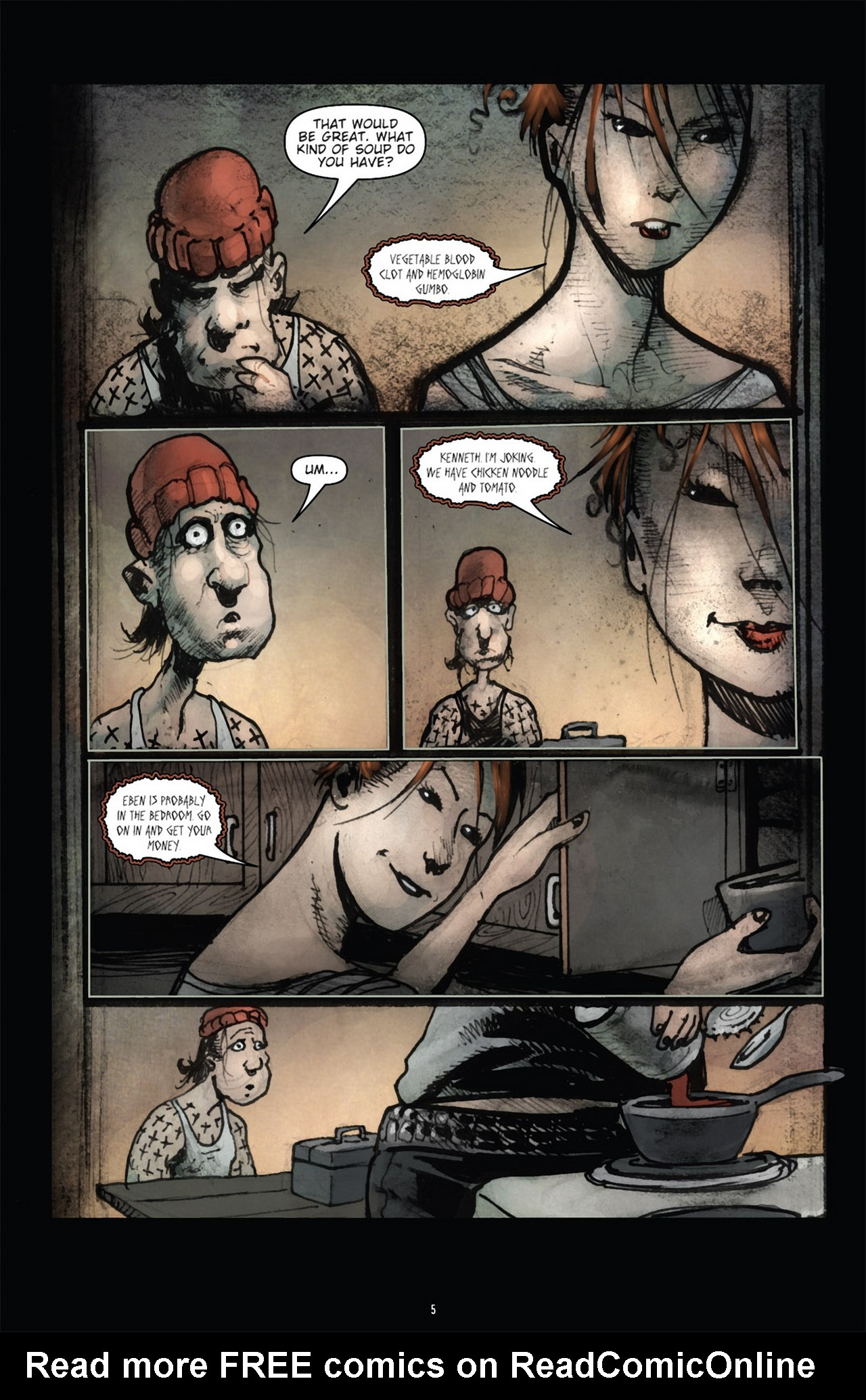 Read online 30 Days of Night (2011) comic -  Issue #3 - 9