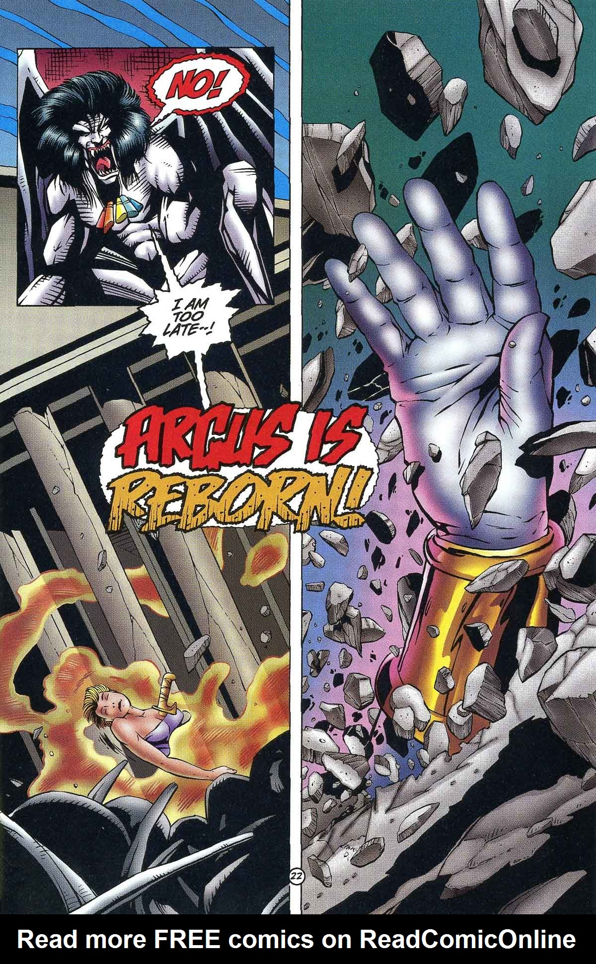Read online Rune (1994) comic -  Issue #9 - 24