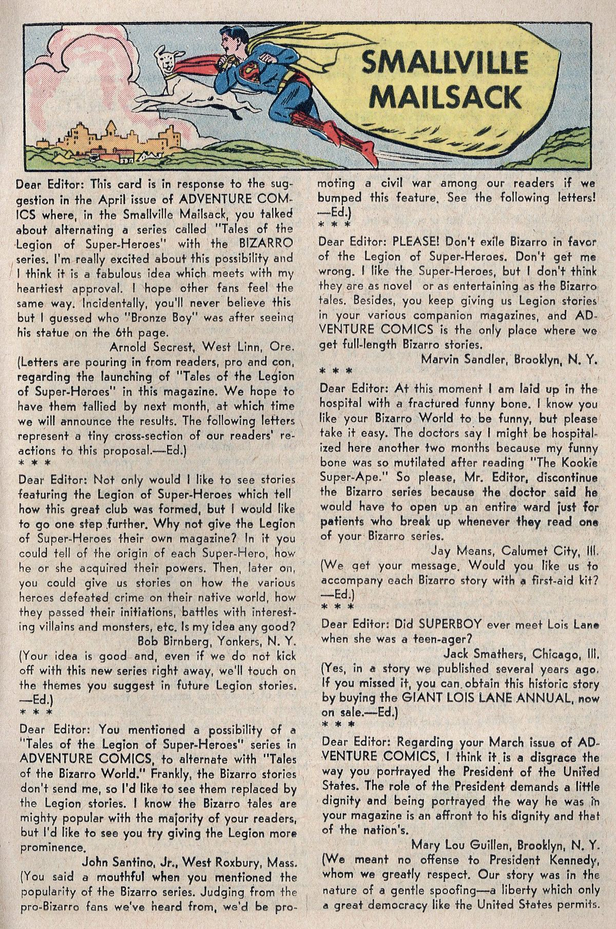 Read online Adventure Comics (1938) comic -  Issue #298 - 17