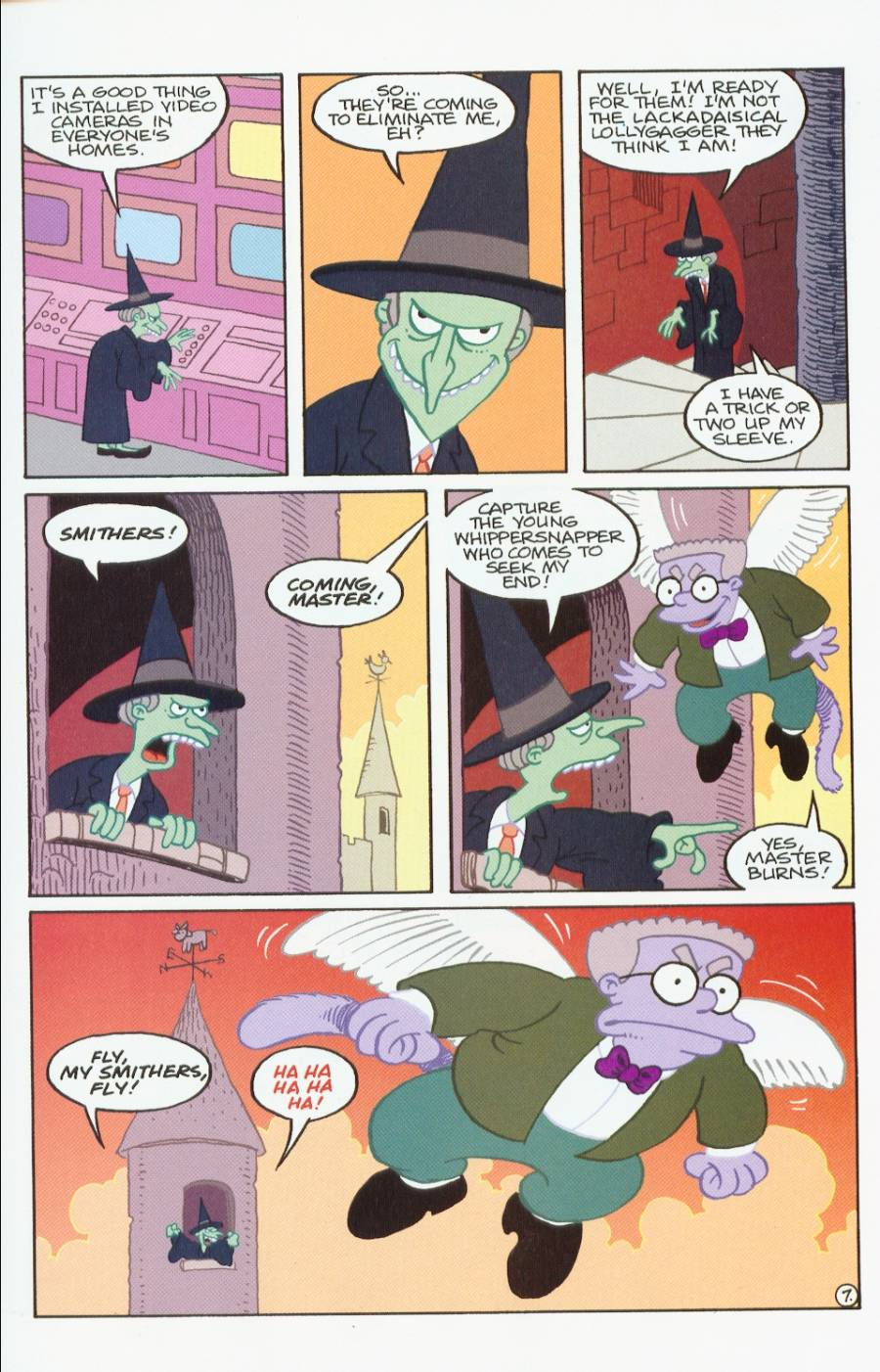 Read online Treehouse of Horror comic -  Issue #7 - 20