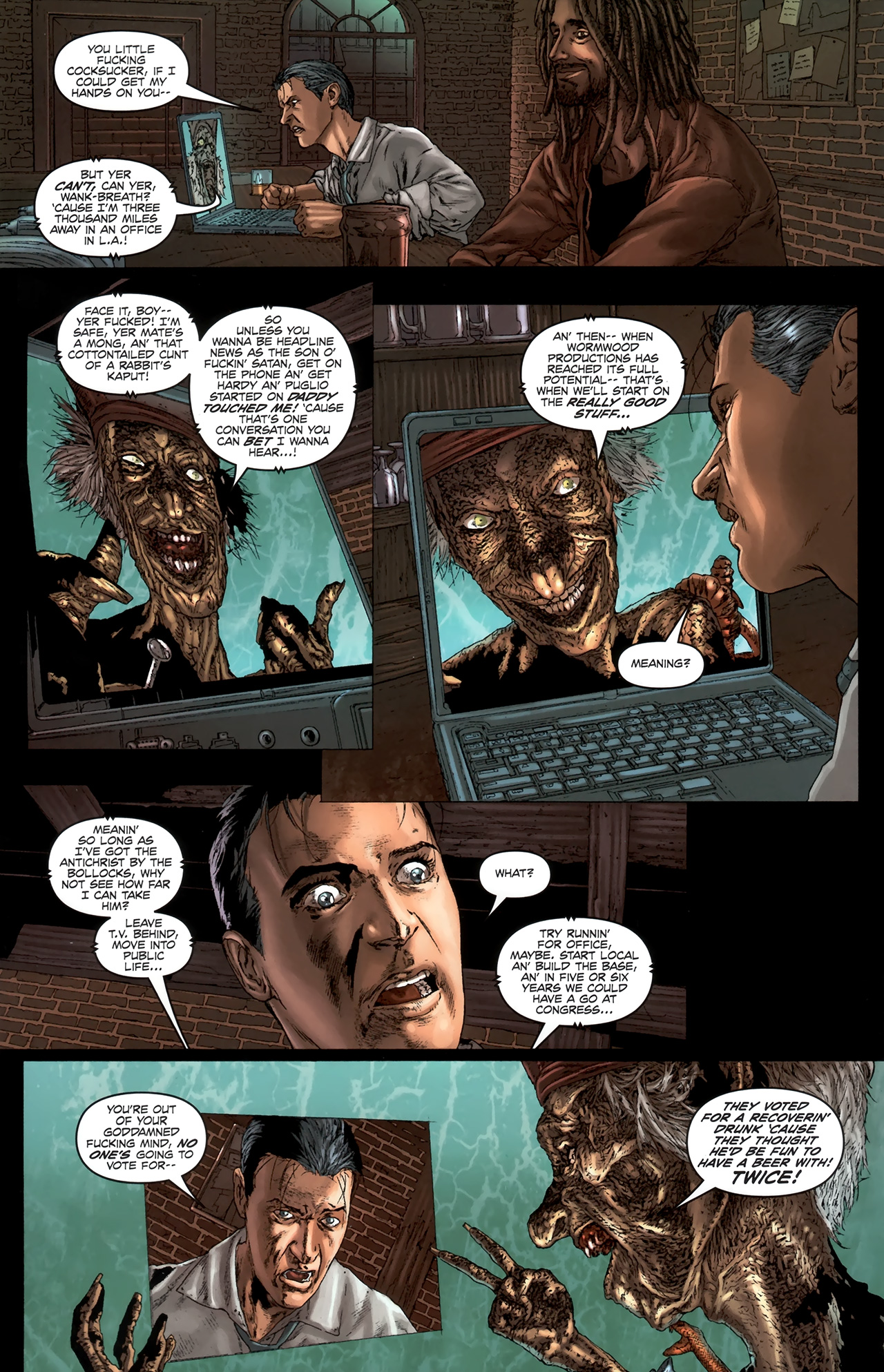 Read online Chronicles of Wormwood: The Last Battle comic -  Issue #6 - 11