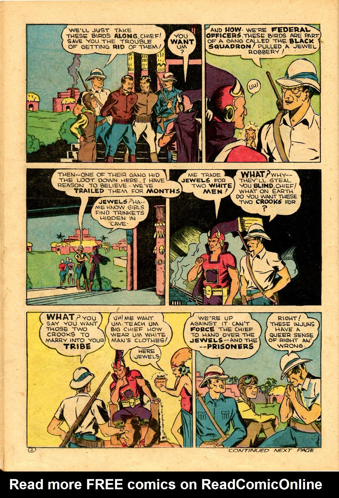 Read online Famous Funnies comic -  Issue #101 - 48