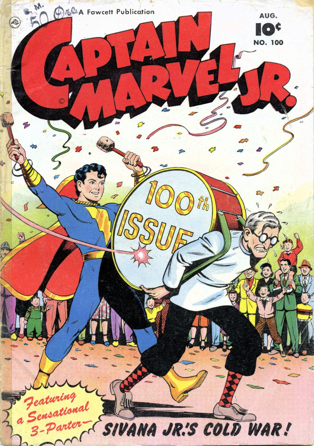 Captain Marvel, Jr. 100 Page 1