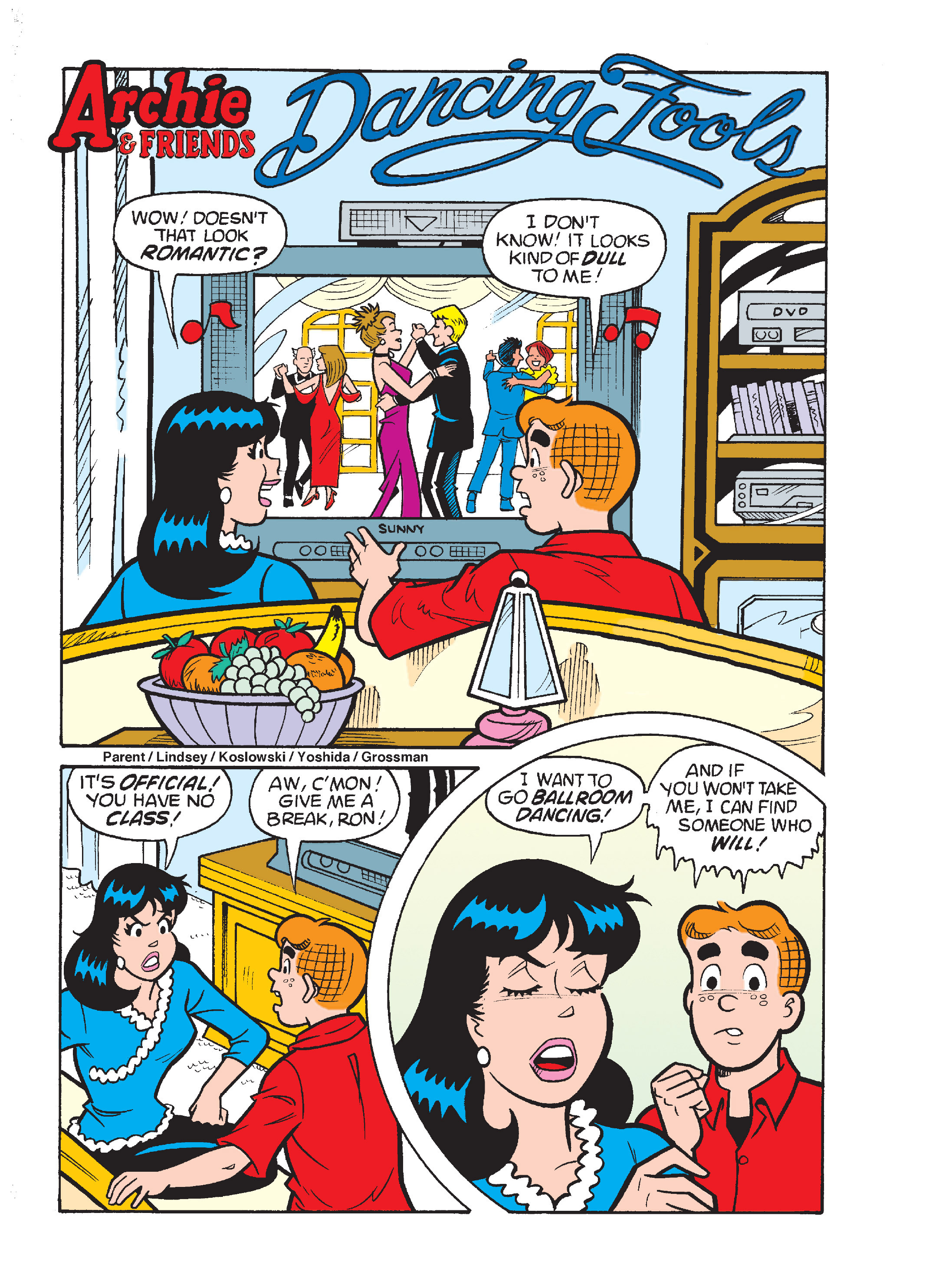 Read online Archie's Funhouse Double Digest comic -  Issue #17 - 104