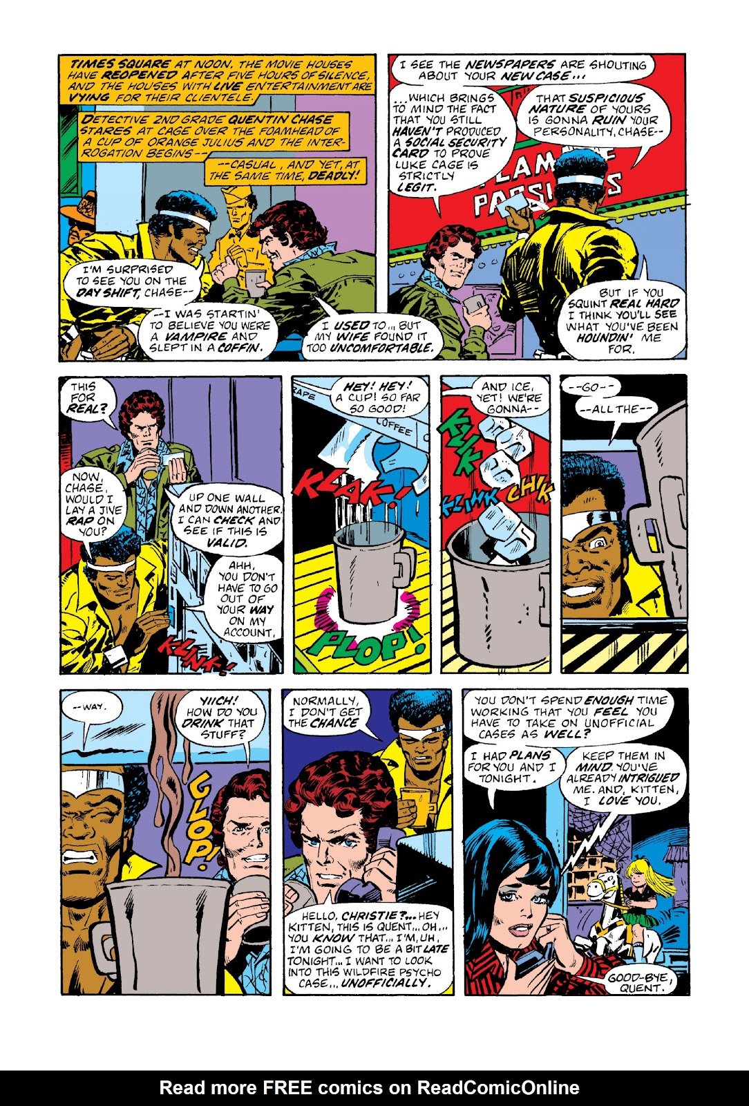 Read online Marvel Masterworks: Luke Cage, Power Man comic -  Issue # TPB 3 (Part 1) - 19